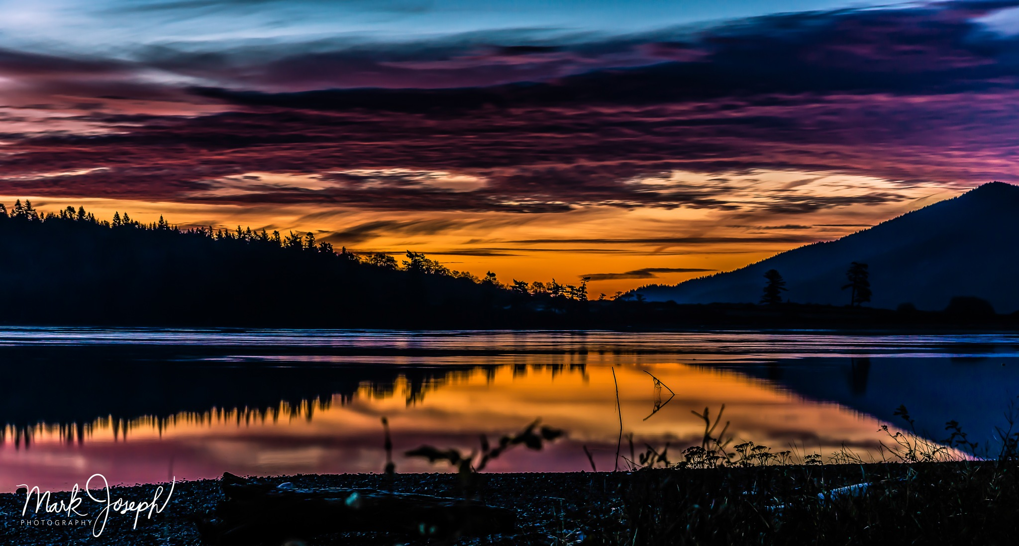 Lummi/Portage Sunrise 2 by Mark Joseph