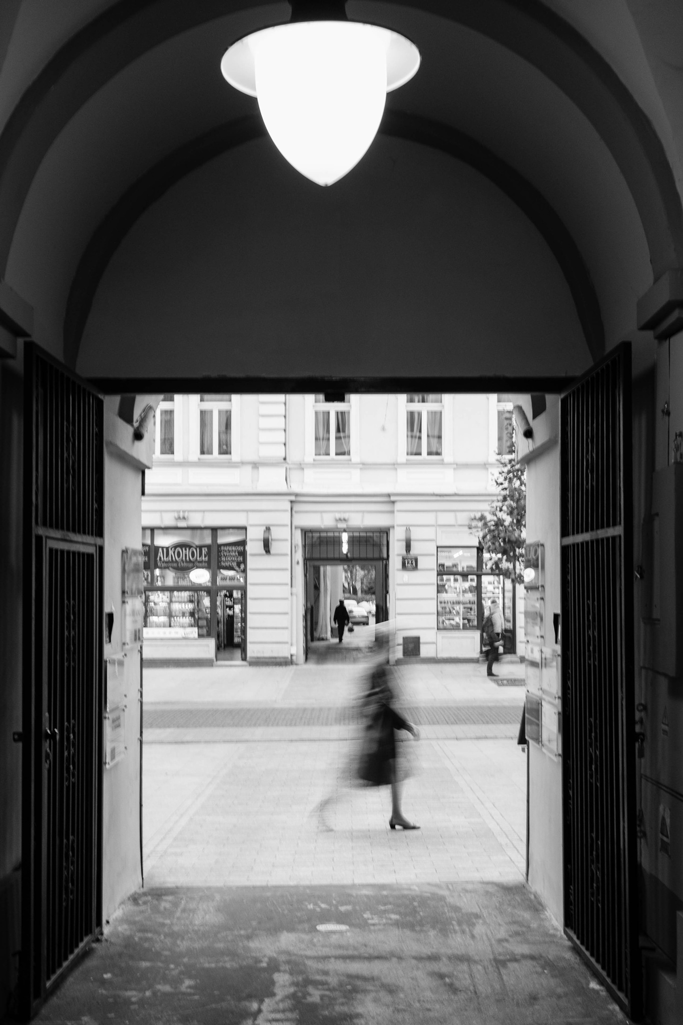 Piotrkowska Alleyway by DRJonsey
