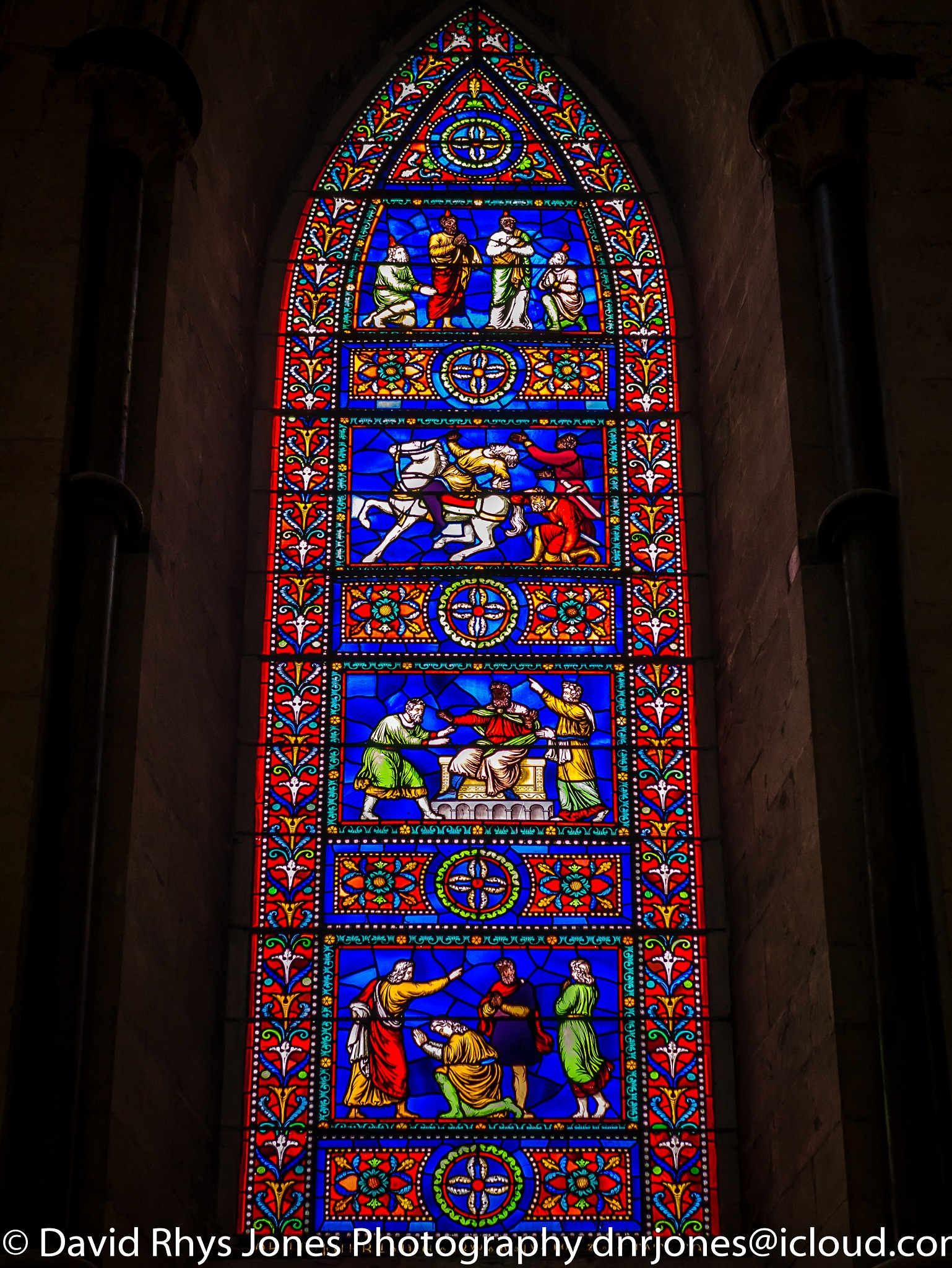 Stained Glass Window, Lincoln Cathedral by DRJonsey