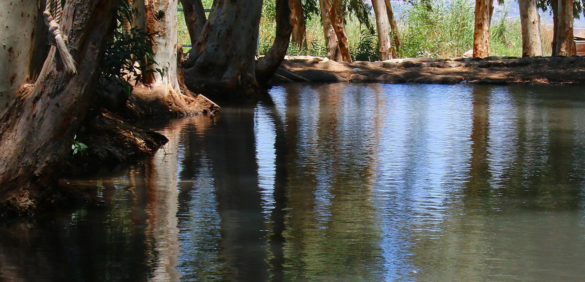 Reflection Spring water by ITZIK YOTVAT