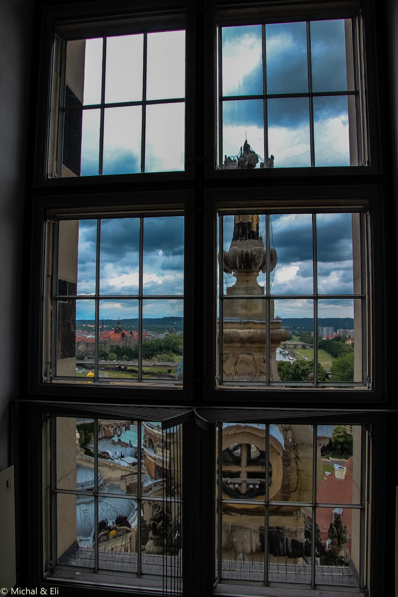 Window to Dresden... by mieymay