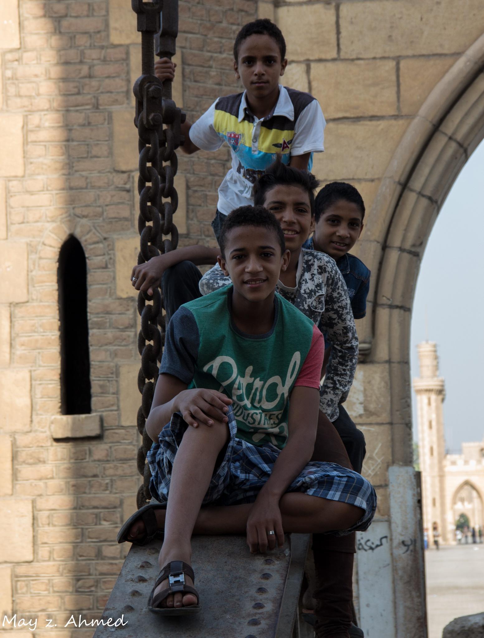 boys by May z. ahmed