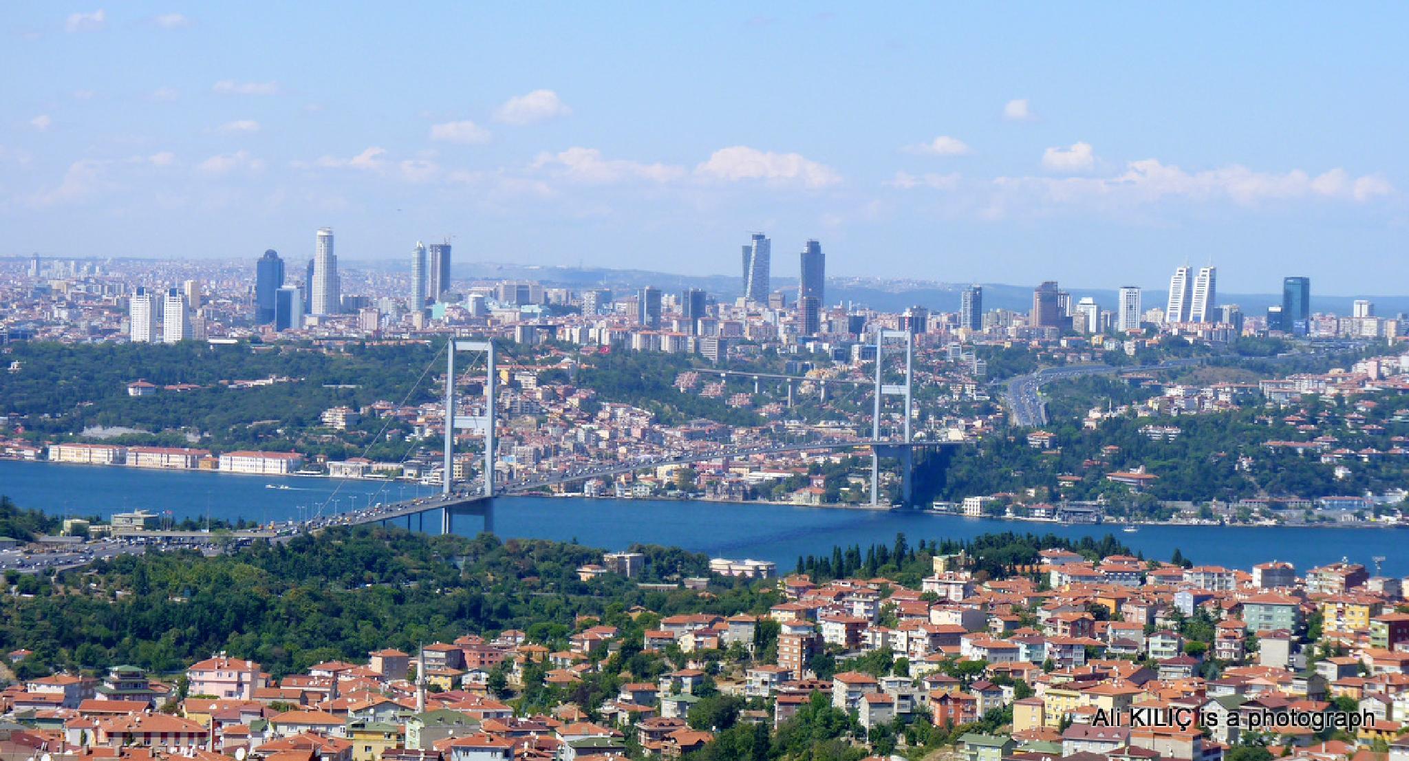 Çamlıca Tepesinden Manzara..Camlica Hill's View by Ali KILIÇ