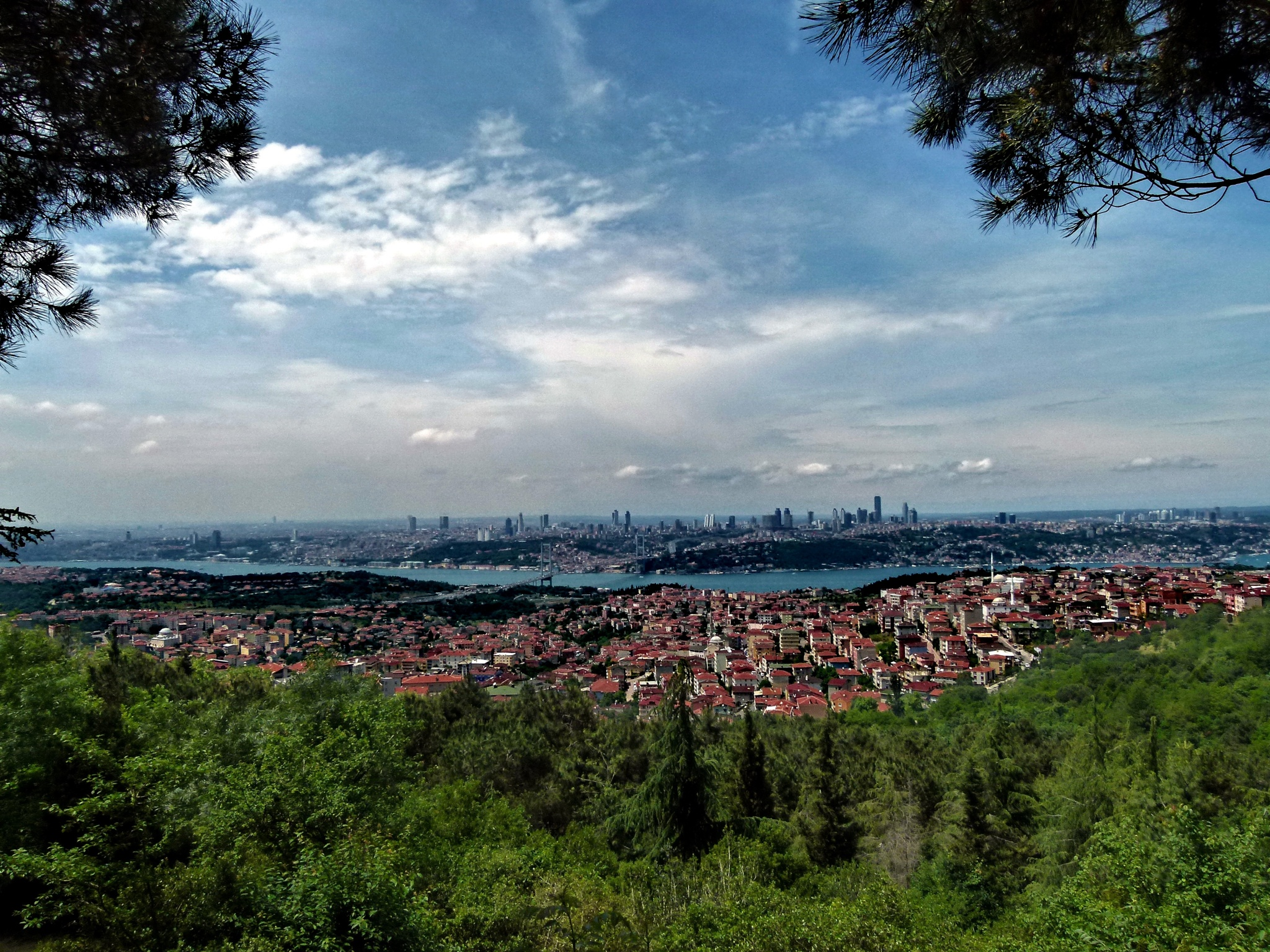 Çamlıca tepesinden istanbul boğazı by Ali KILIÇ