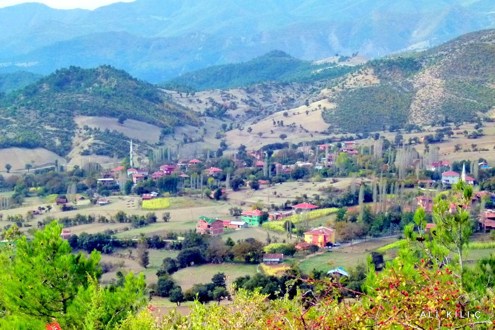 a mountain village in anadolu by Ali KILIÇ