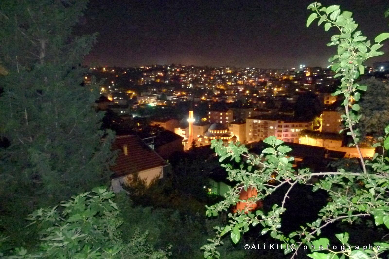 At night from the balcony by Ali KILIÇ