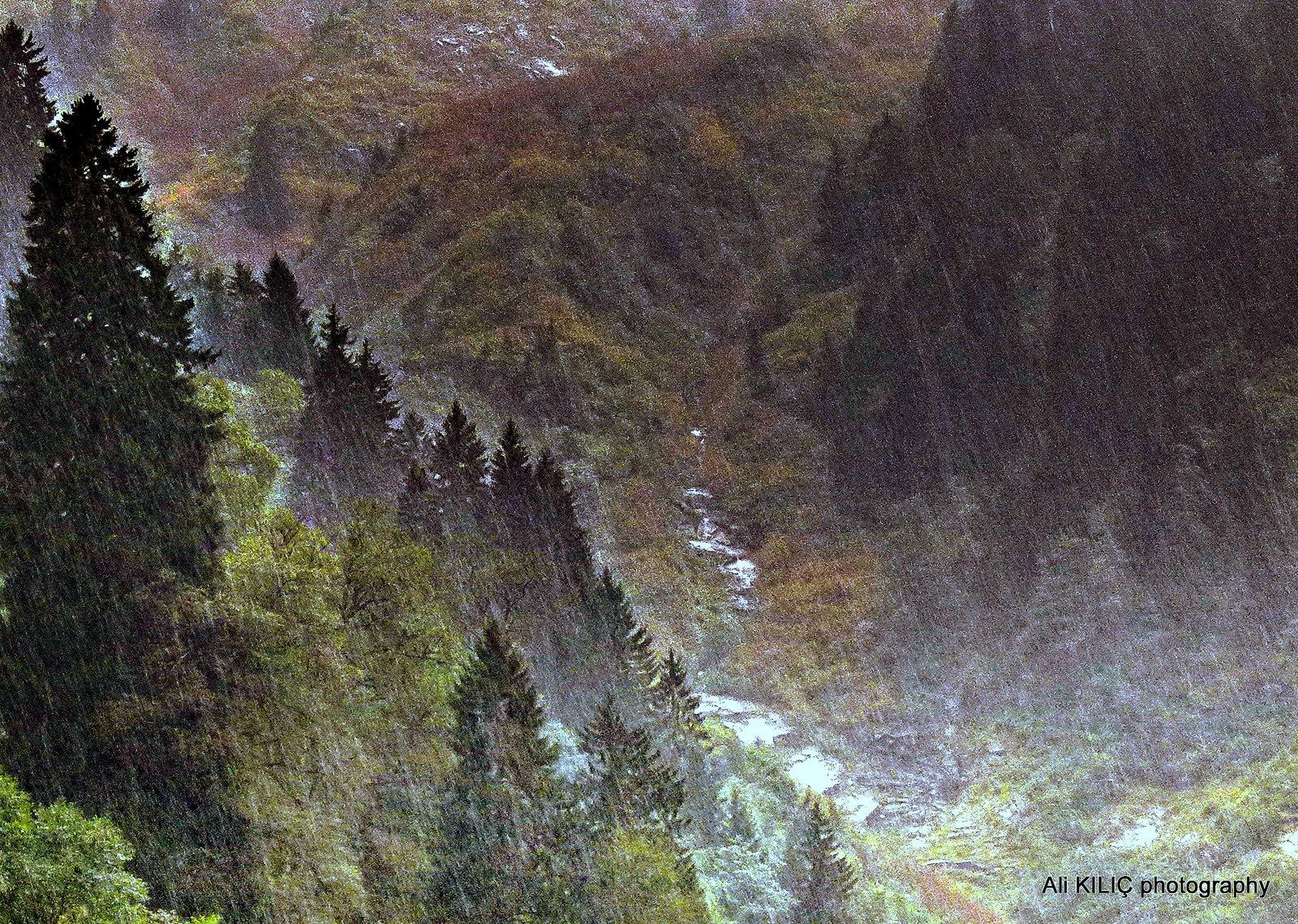 Torrential rain 2 by Ali KILIÇ