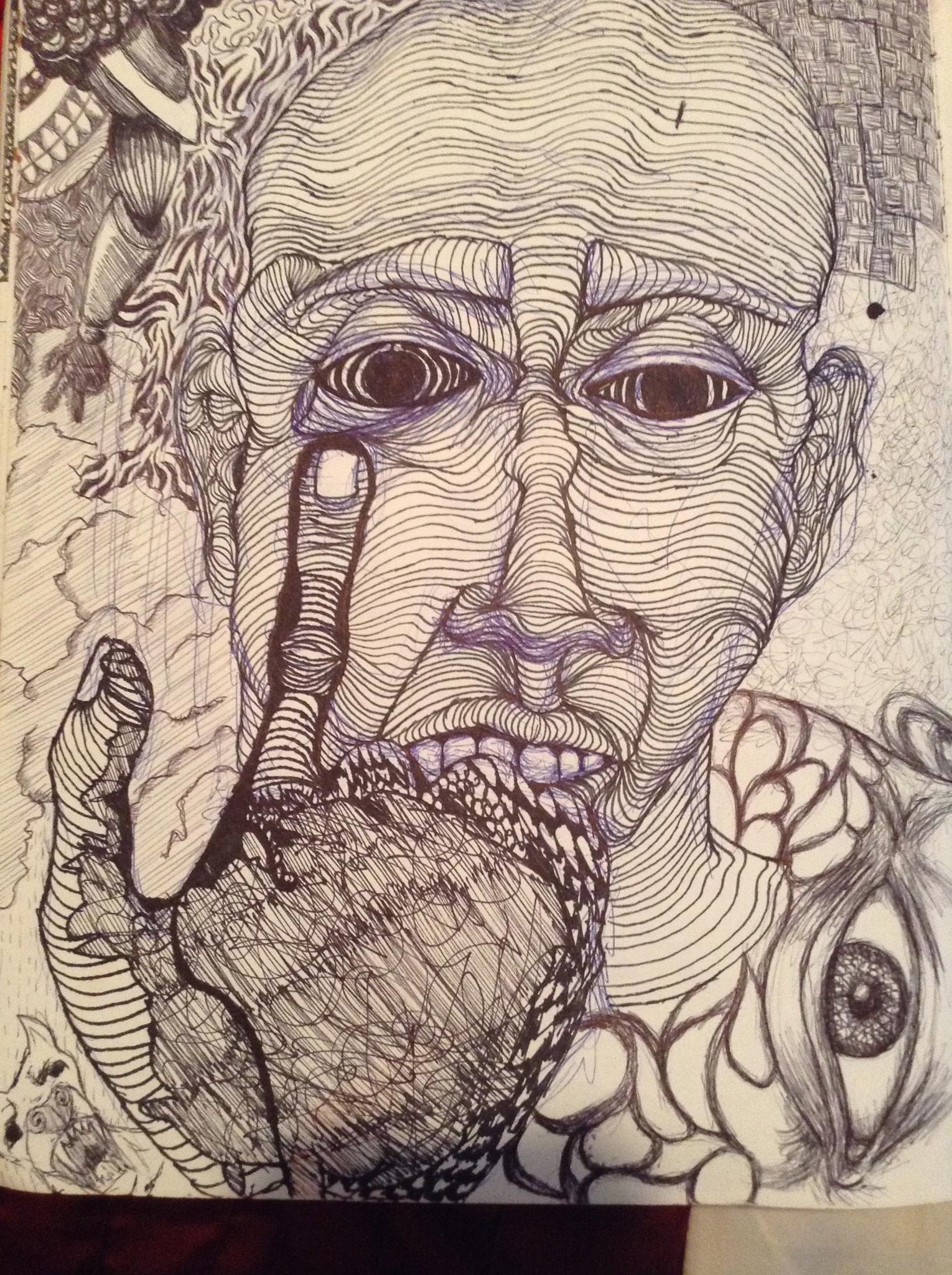 Strange one by Graphic Artist JYJWLZ.COM by Bebet Blue Amazon