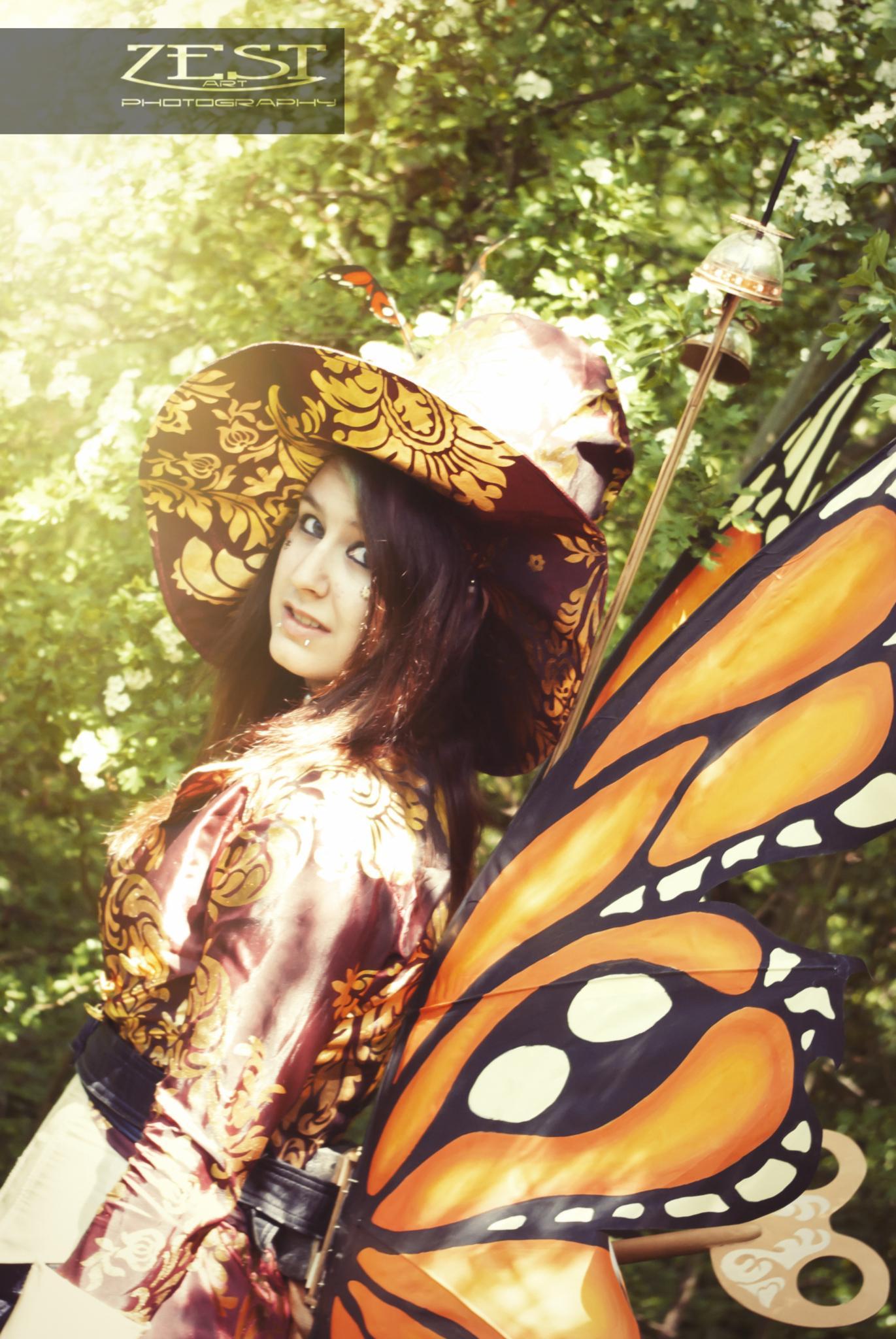 orange fairy by Zoey Smith