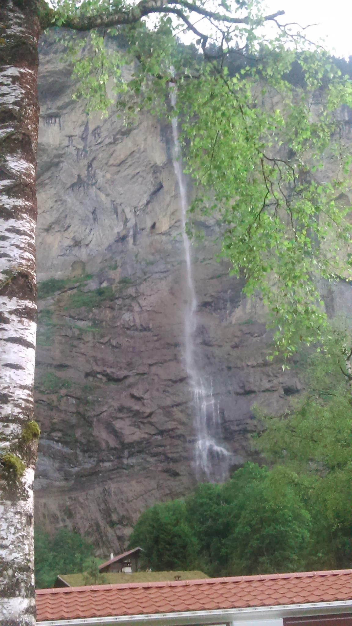 Jungfrau falls by Geoff Munro