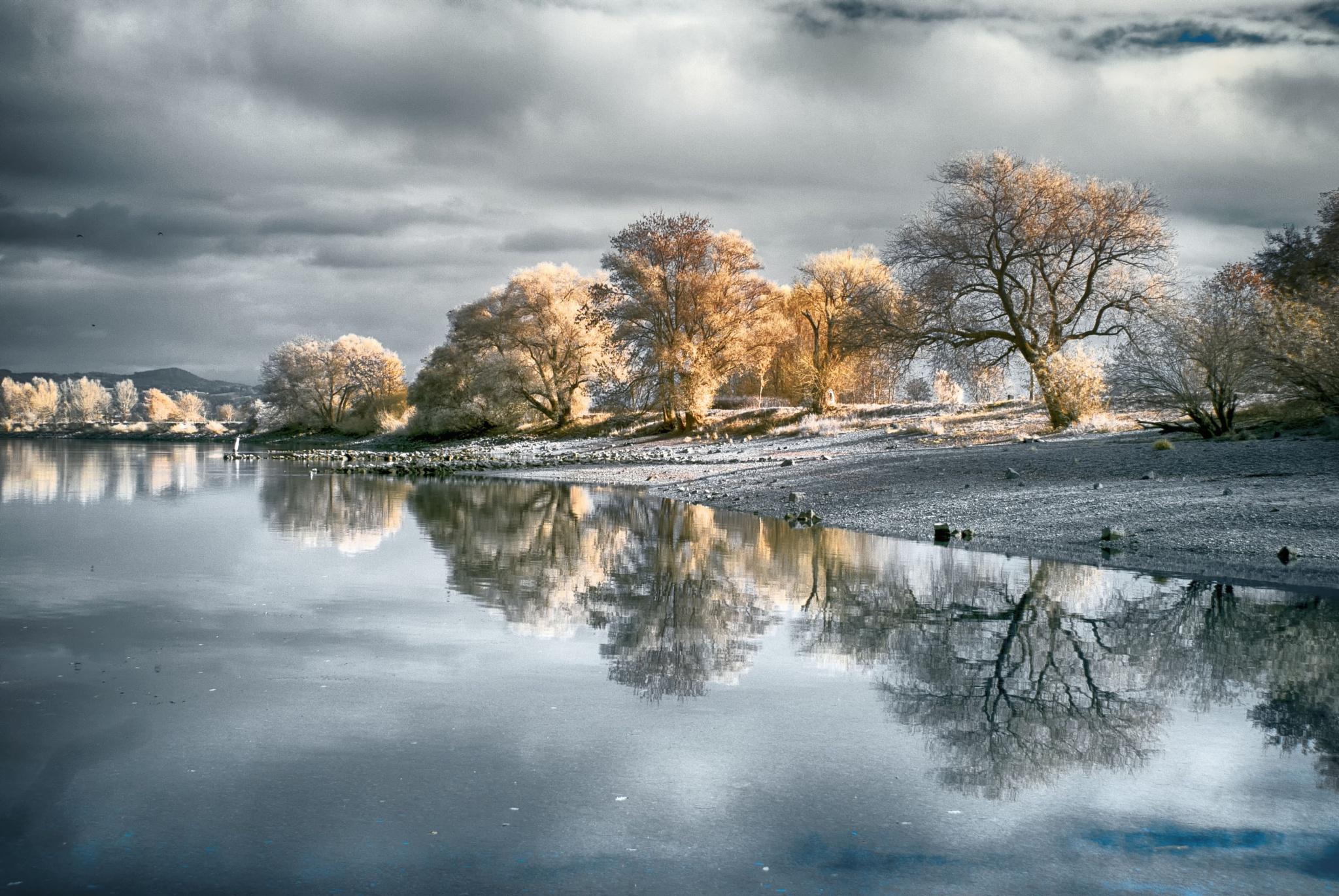 Donau - spiegel (IR,590nm) by FalcoM