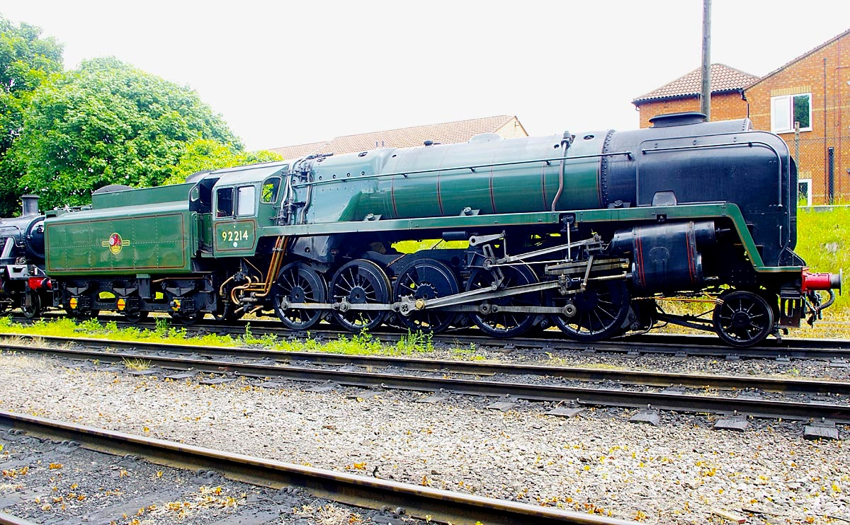 Loughborough Class 9 - 2-10-0- 03 June 2017 by Owen Smithers