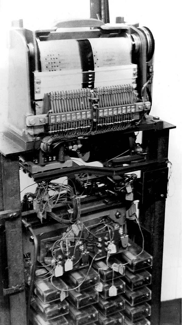 London Transport Northern Line Camden Town Programme Machine Test 1957 by Owen Smithers