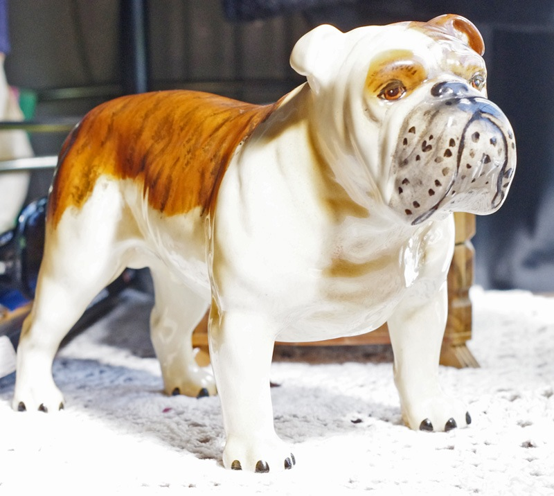 Beswick Potteries Model 'Bulldog' 09 August 2010. by Owen Smithers