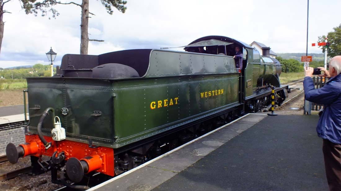 Gloucestershire & Warwickshire Heritage Railway G.W.R Class 28XX No 2807-05a-16 September 2017 by Owen Smithers