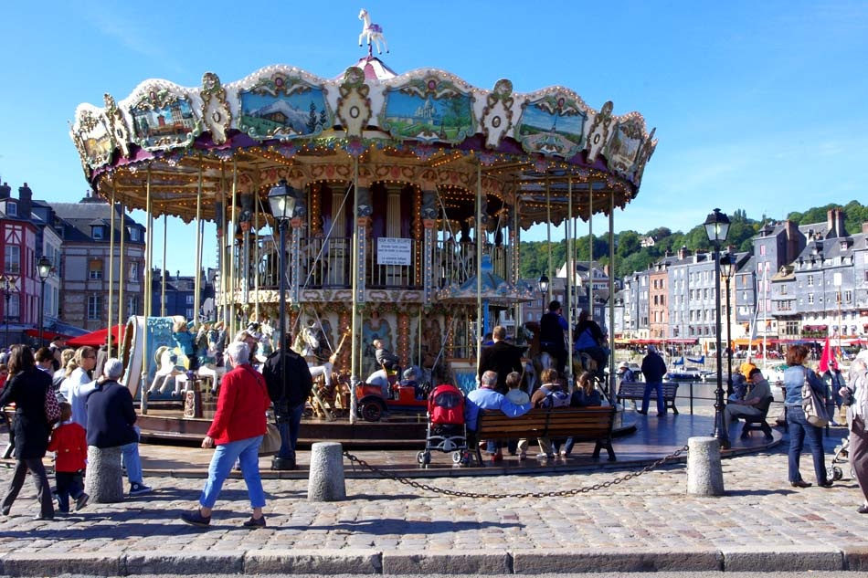 Honfleur Carousel 1-19 September 2010 by Owen Smithers
