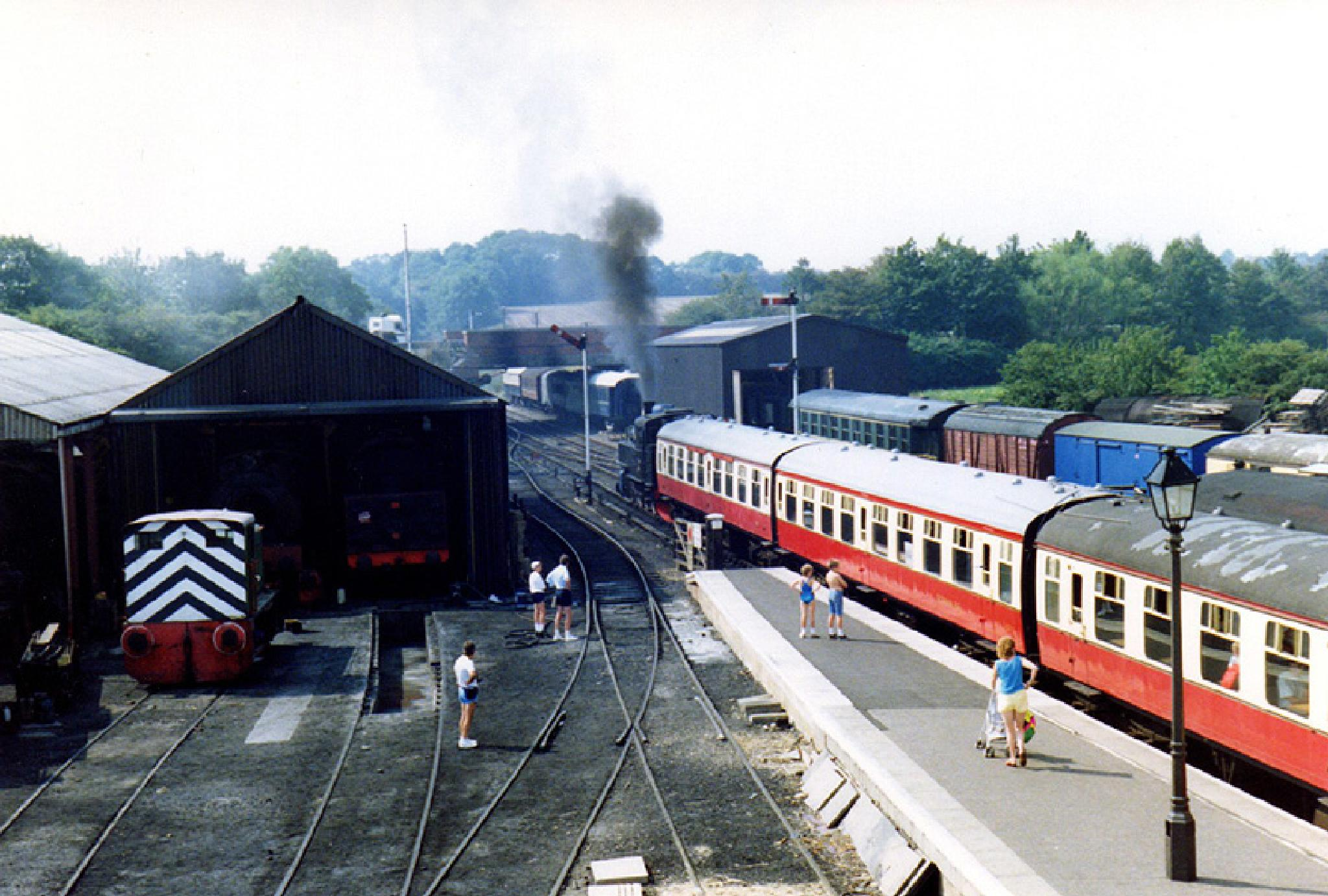 Nean Valley Railway 2-1991  by Owen Smithers
