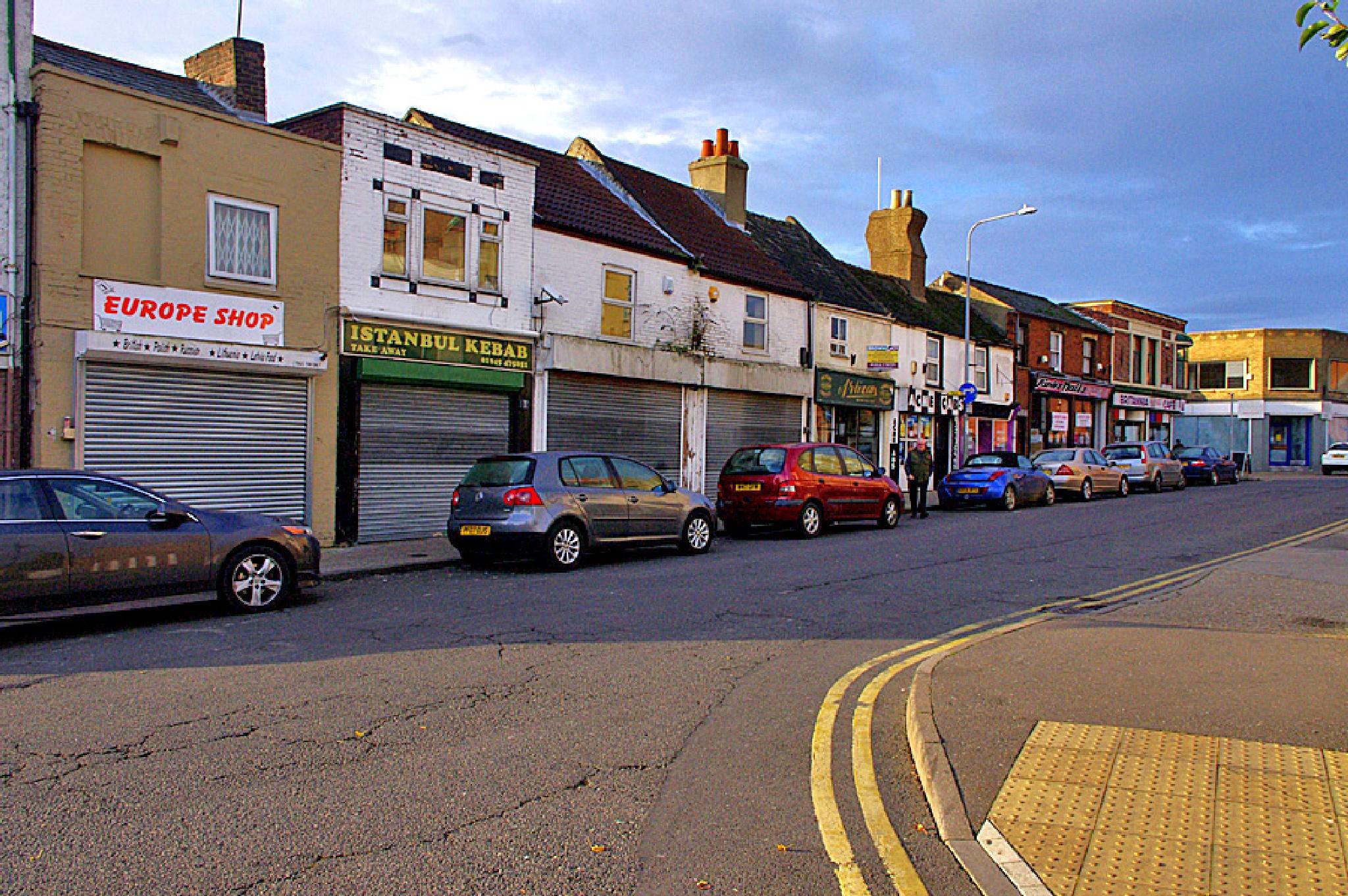 Wisbech East Street 08.45am 5 November 2014  by Owen Smithers