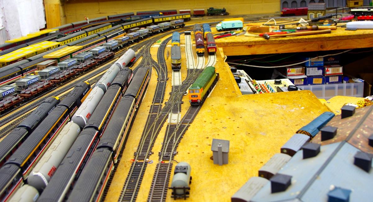 Model Railway Main Sidings Diesel Junction 13a New Layout 24 June  2017 .jpg by Owen Smithers