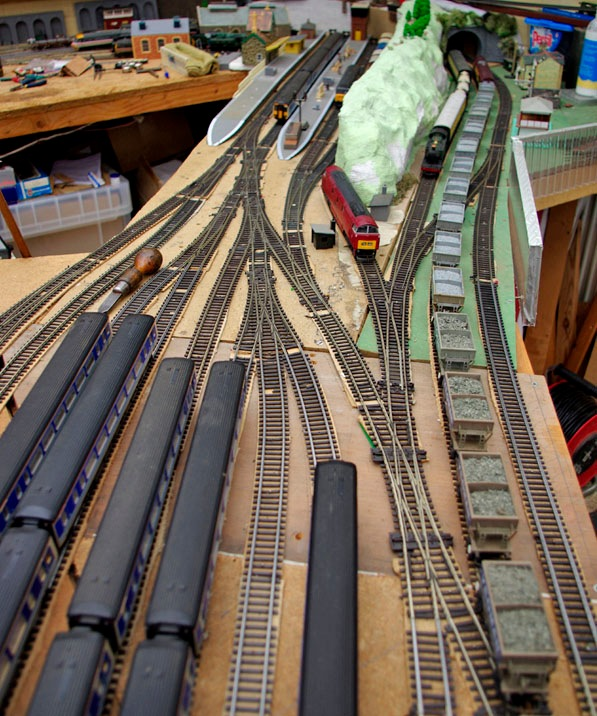 Model Railway Keeble Junction & sidings 12a-16 March 2017  by Owen Smithers