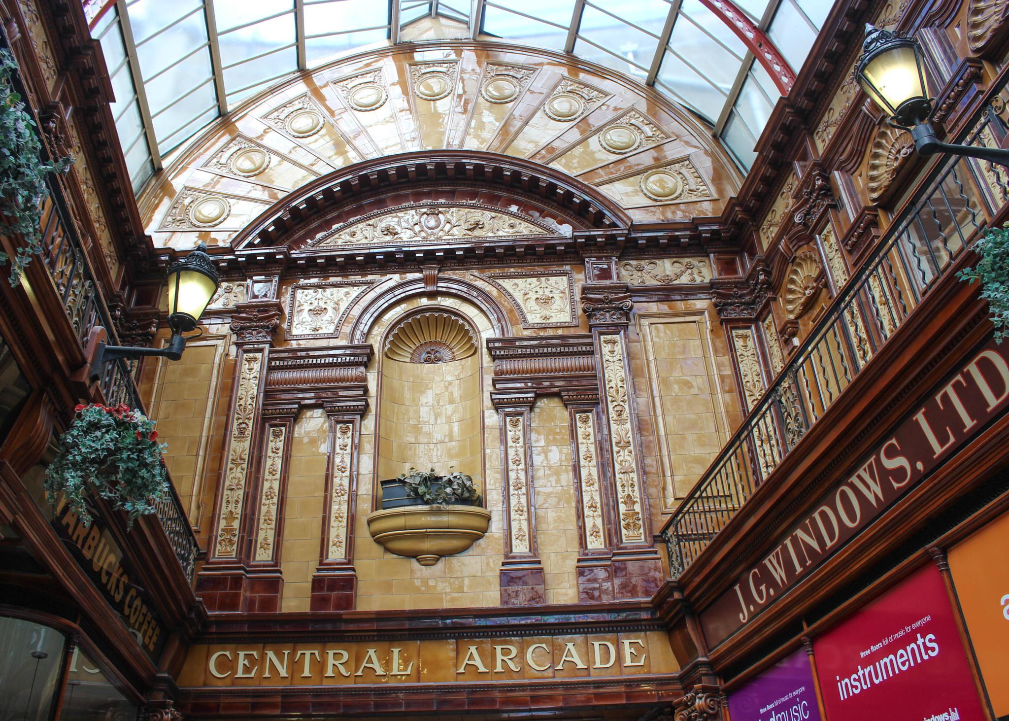 Central arcade by Carol Furness