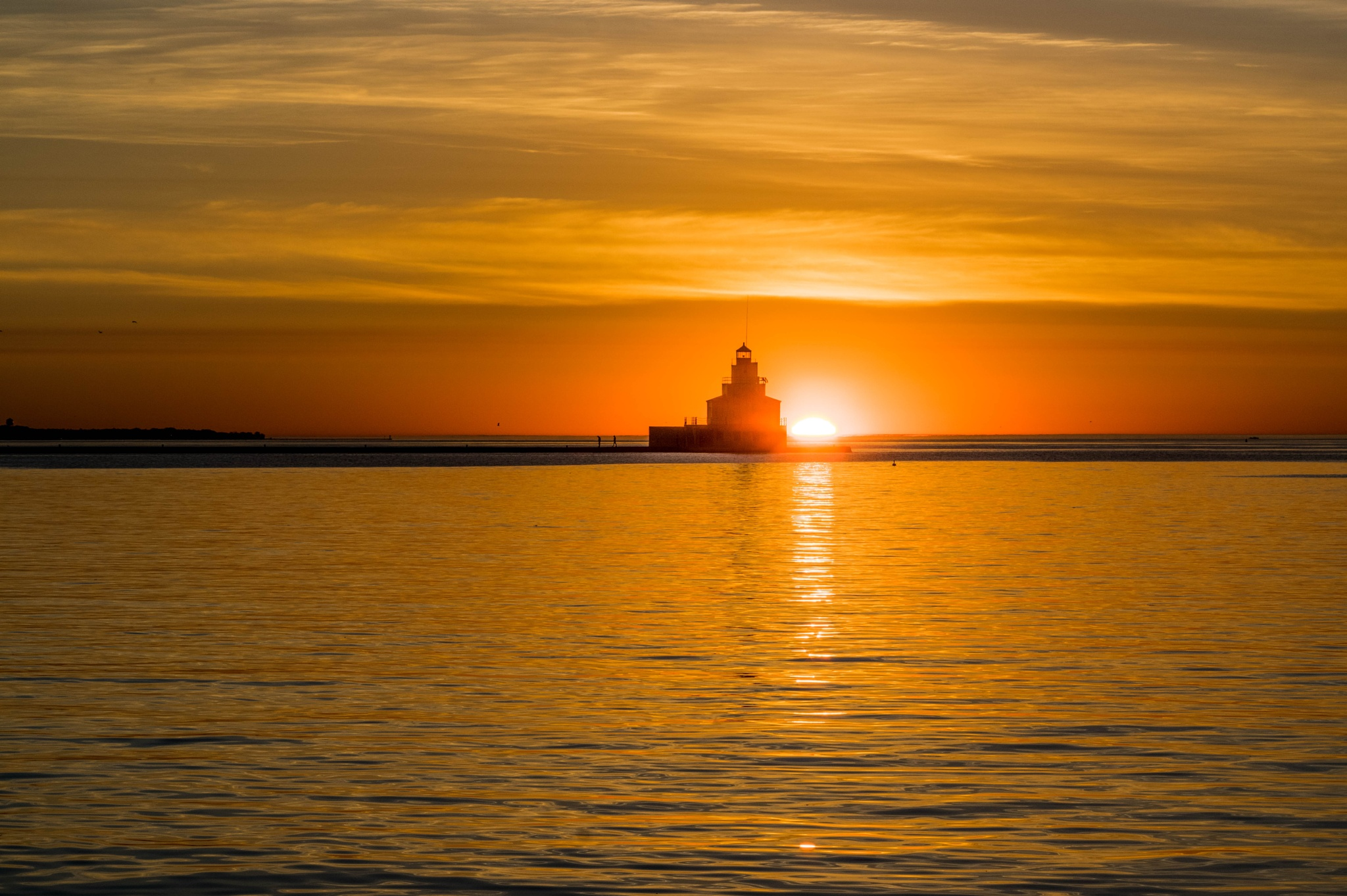 Sunrise in Manitowoc by ChristineD