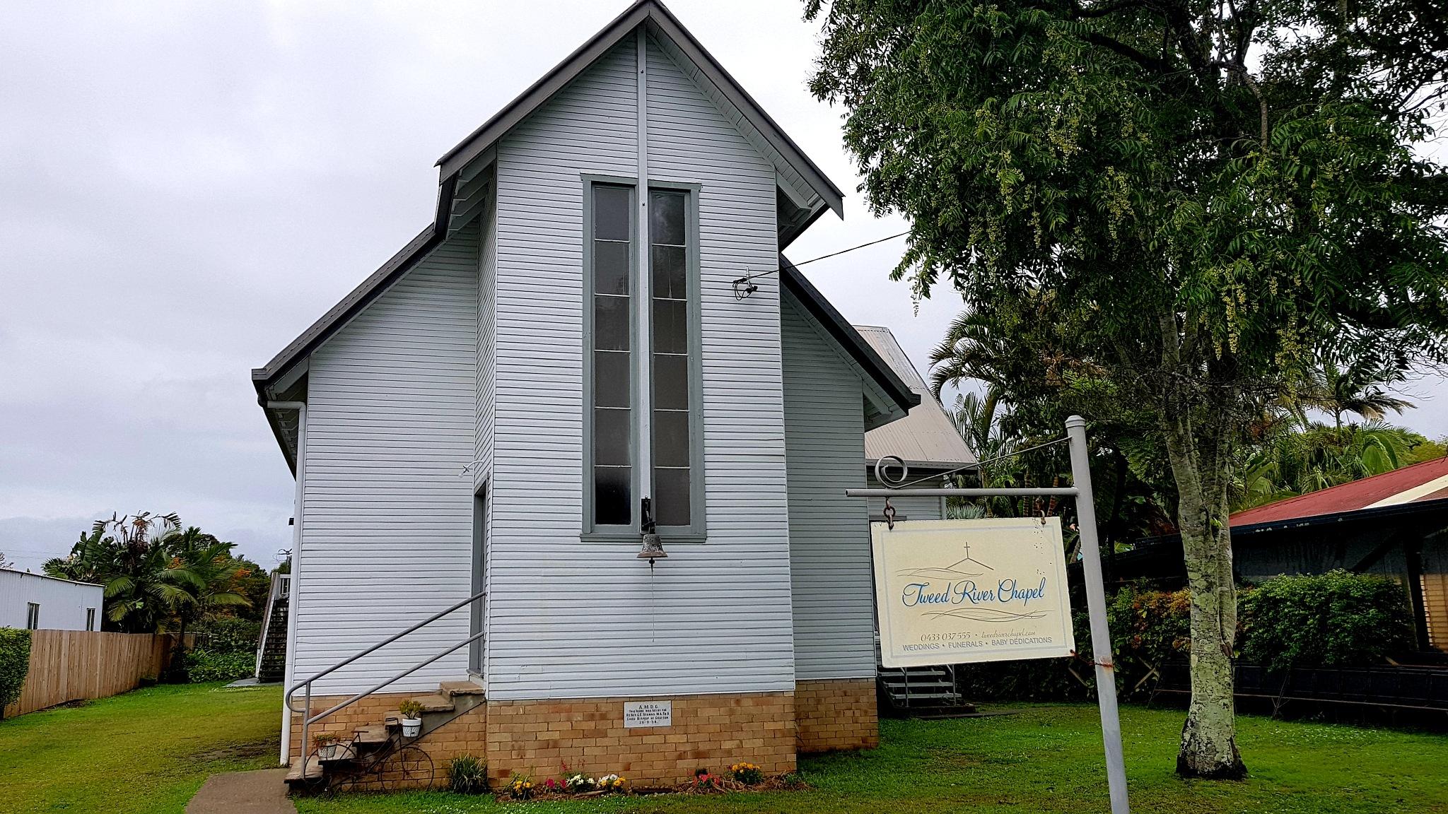 Tweed River Chapel NSW   by Michael De St Pern