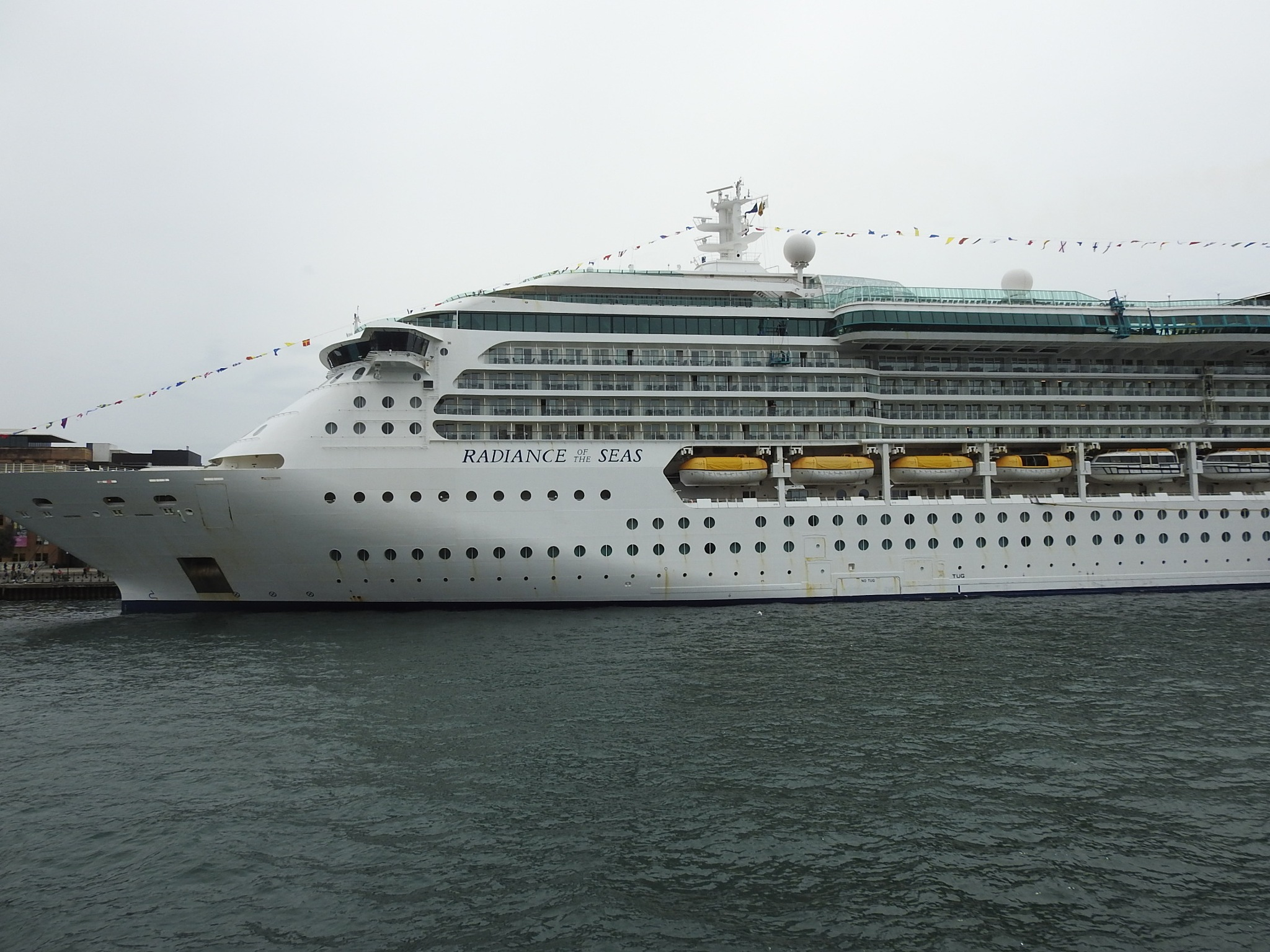 Radiance of the seas. by Michael De St Pern
