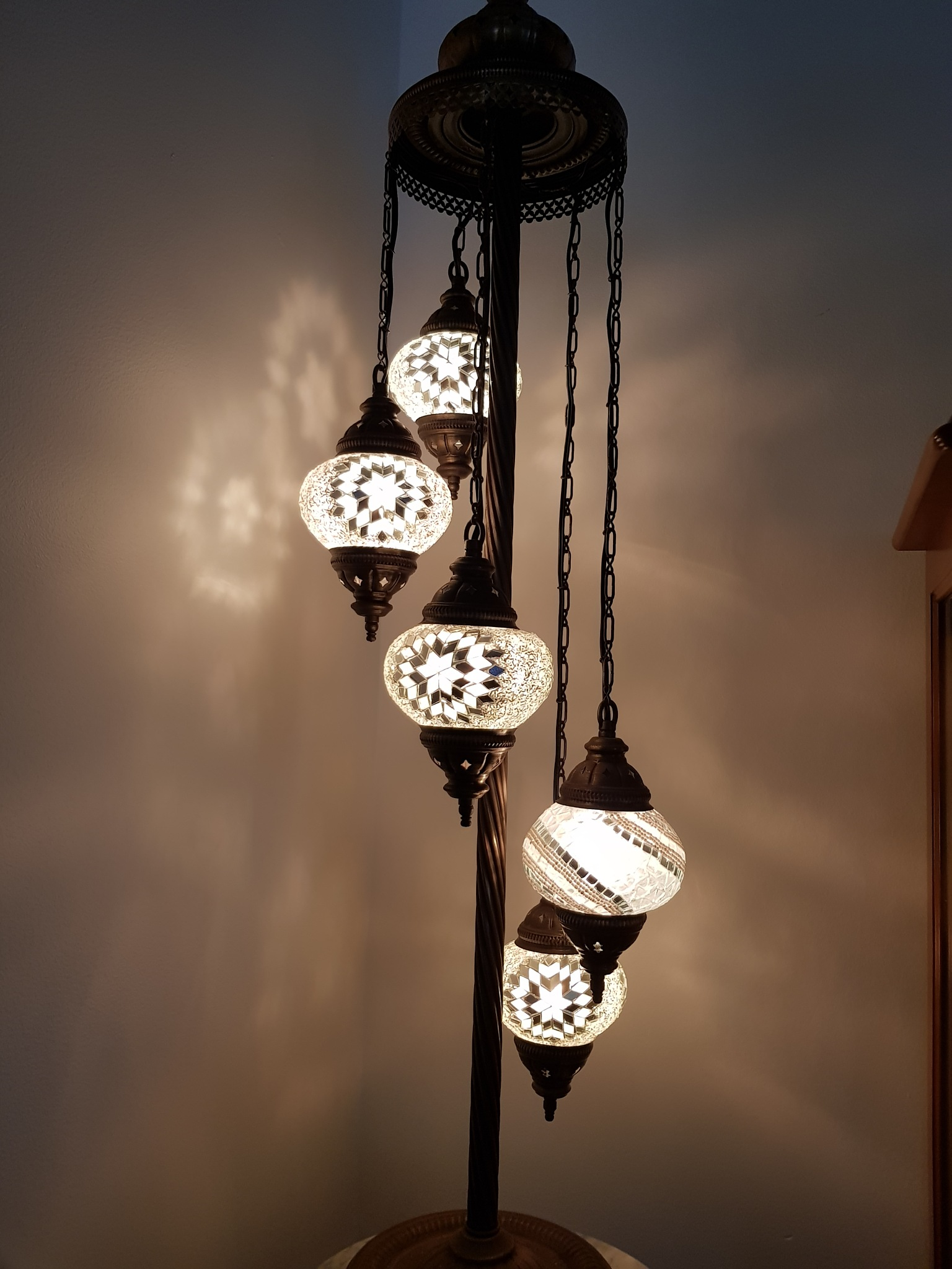 Turkish lamp by Michael De St Pern
