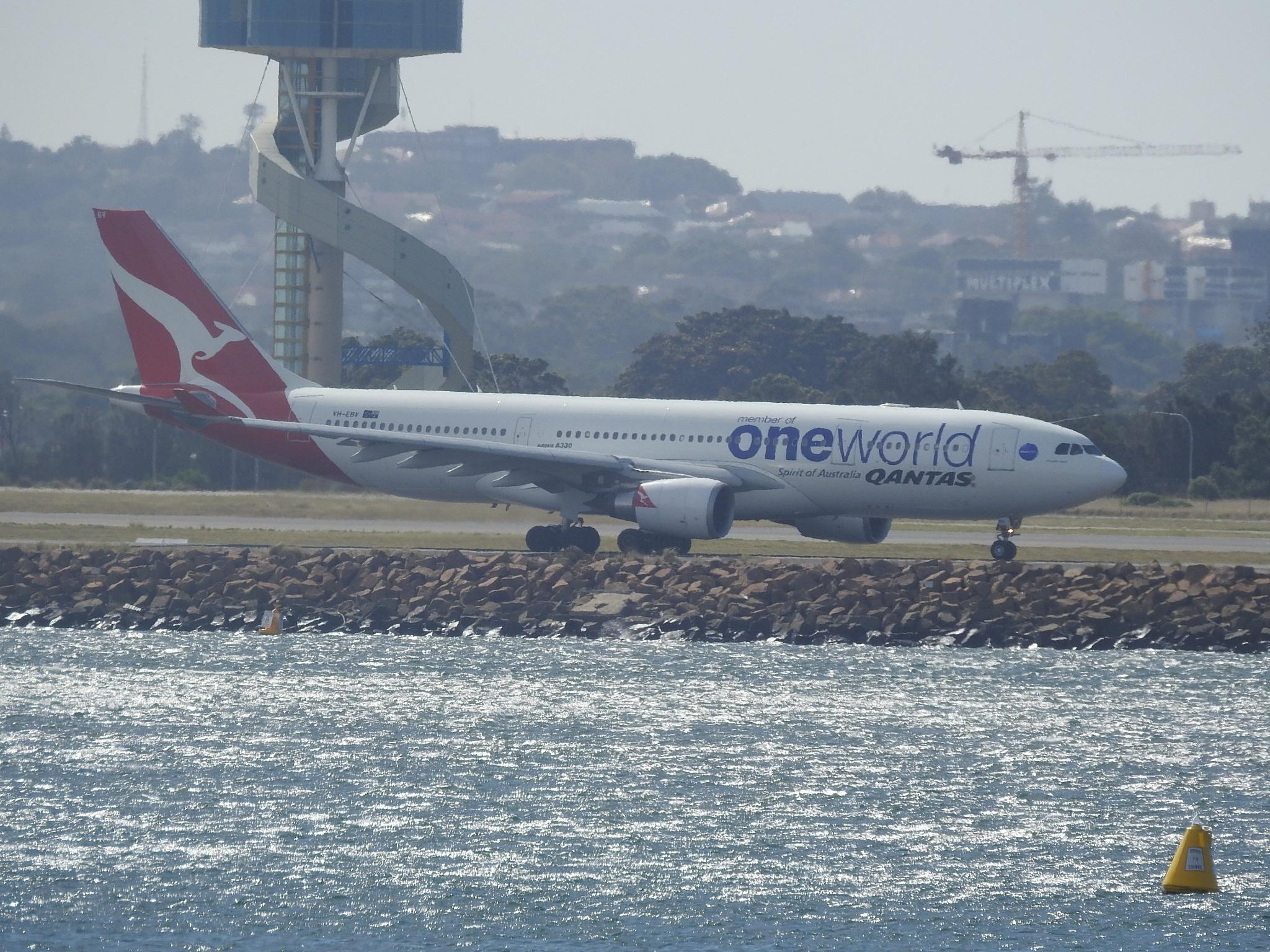 Qantas by Michael De St Pern