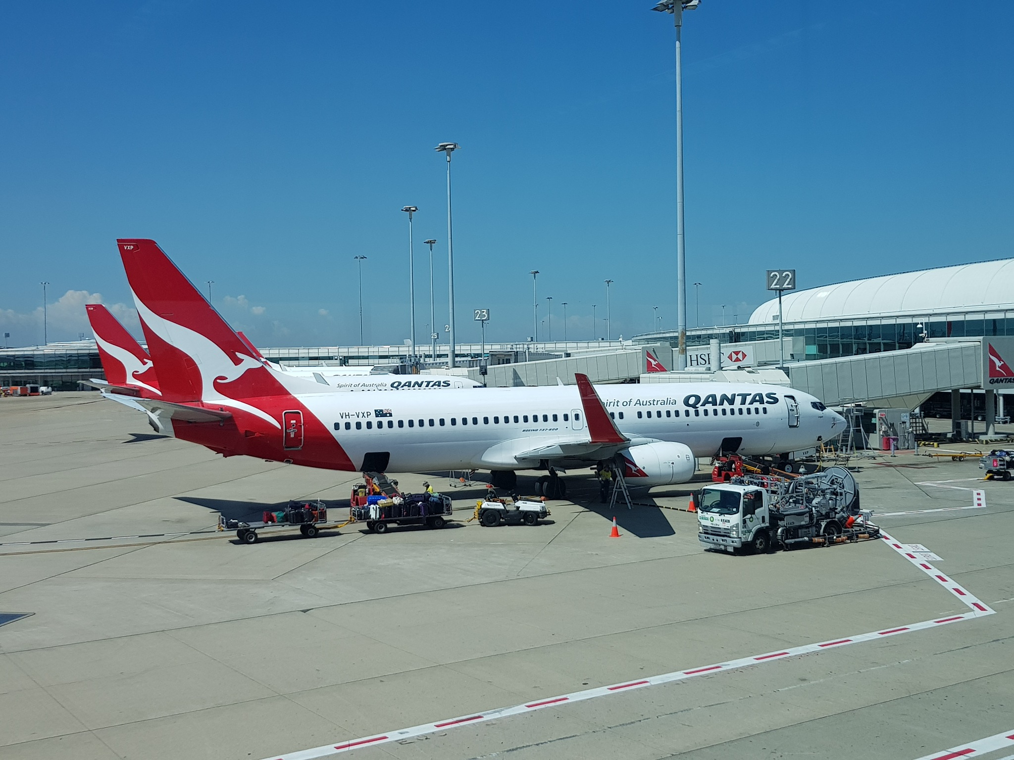 Sydney domestic airport.  by Michael De St Pern