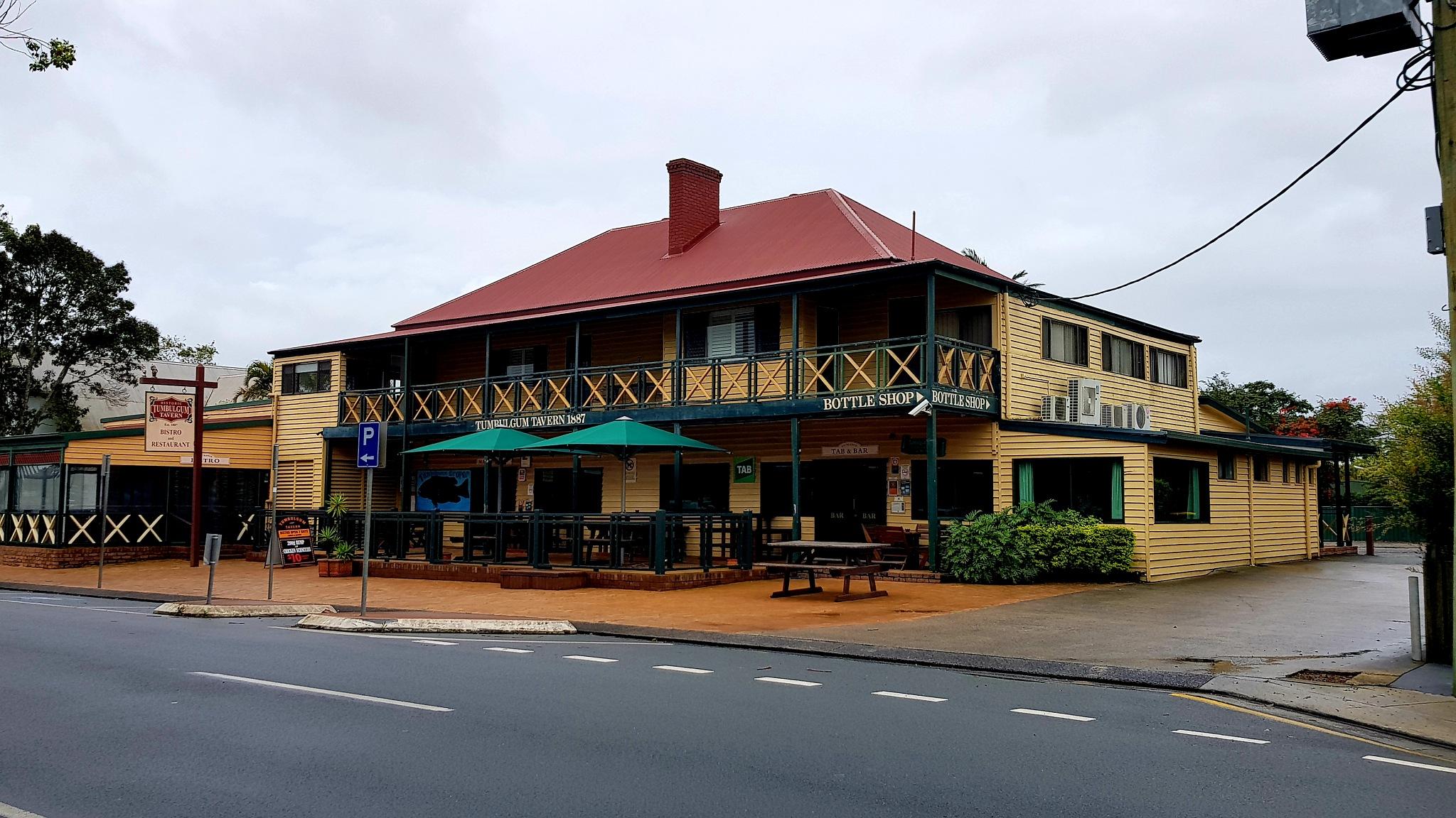 Tumblegum tavern 1887 NSW  by Michael De St Pern