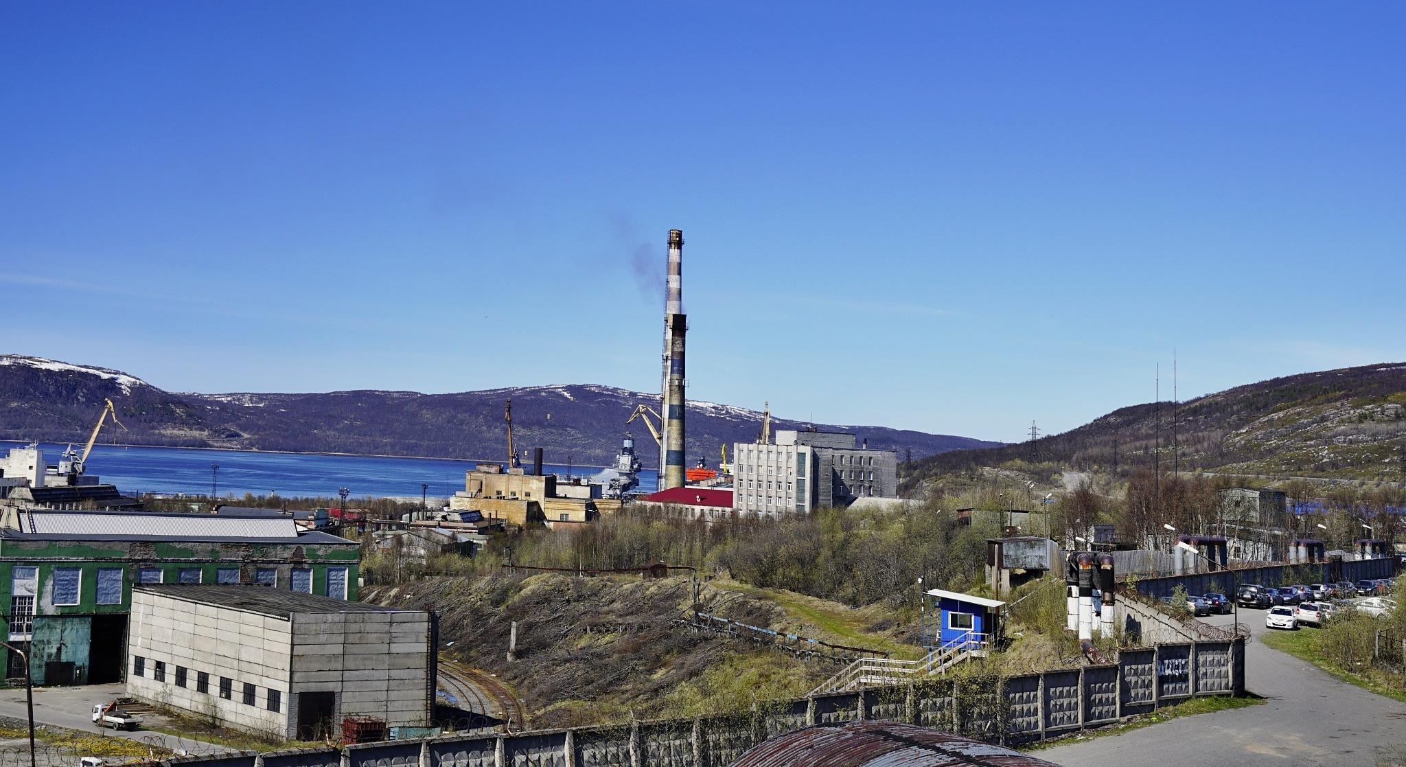 "Murmansk. Kola Gulf. ""35 SRZ"" JSC ""Center of ship repair"" Zvezdochka "" by hlabistin.nick"