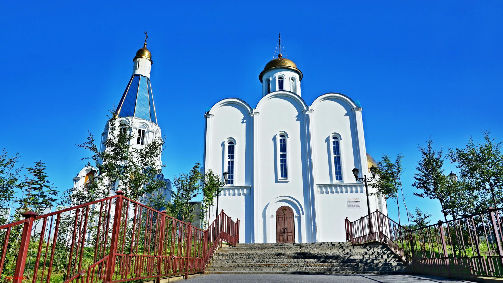 "Marine Orthodox Church ""Spas on the waters"" / MURMANSK / by hlabistin.nick"