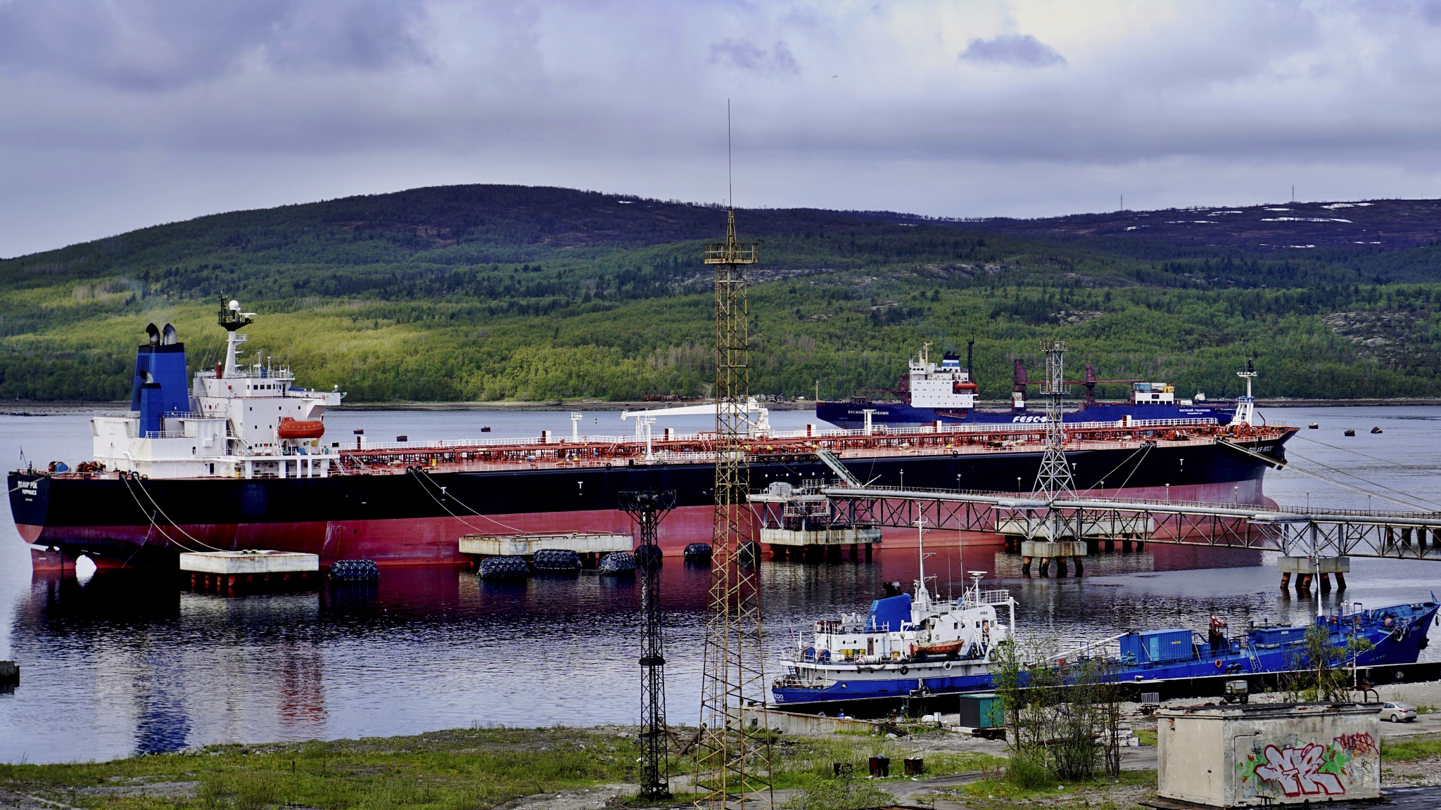 Ships. / Murmansk. Kola Bay by hlabistin.nick