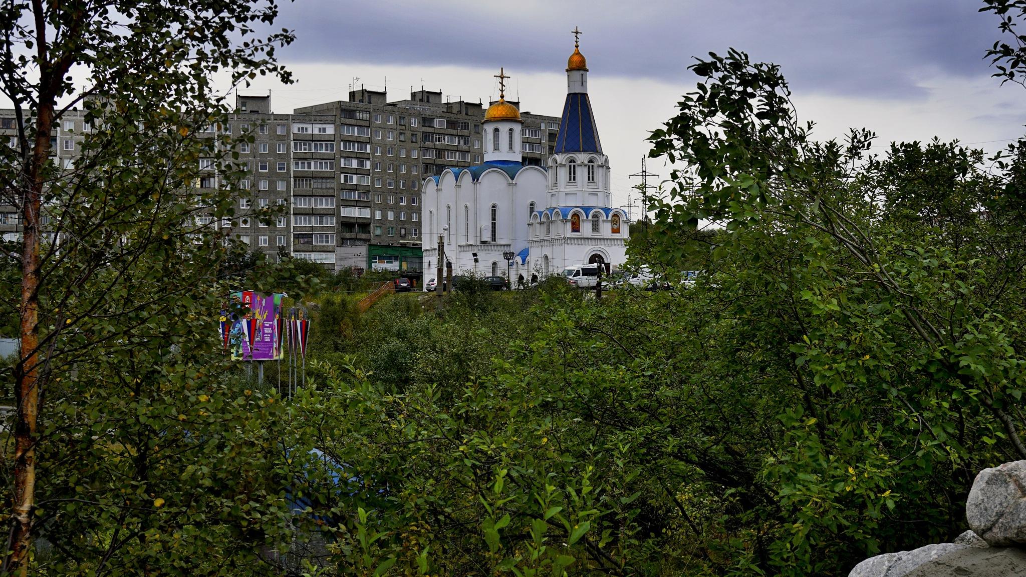 The Savior-Transfiguration Marine Cathedral by hlabistin.nick
