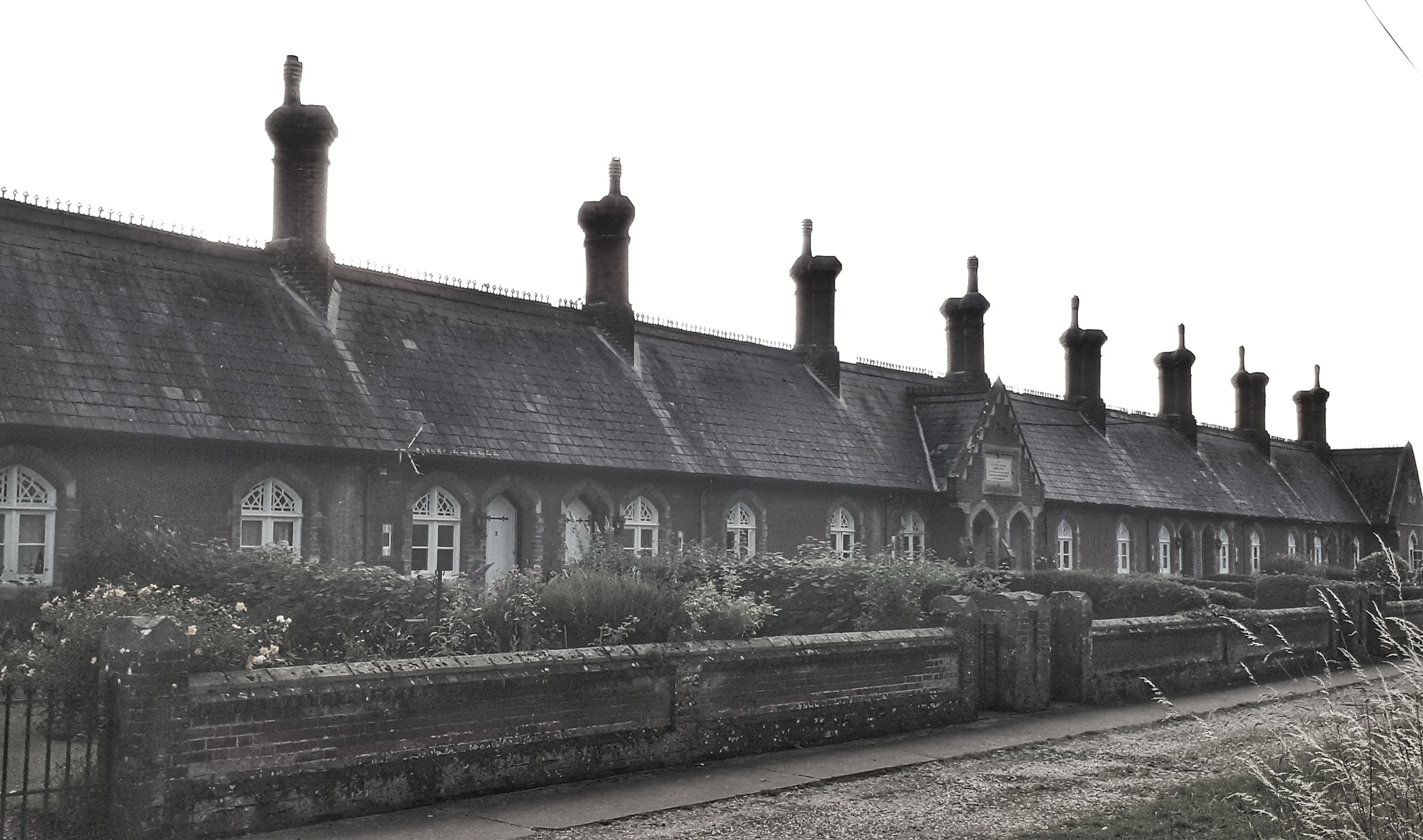 Old houses in the village by jdcoke.porter4