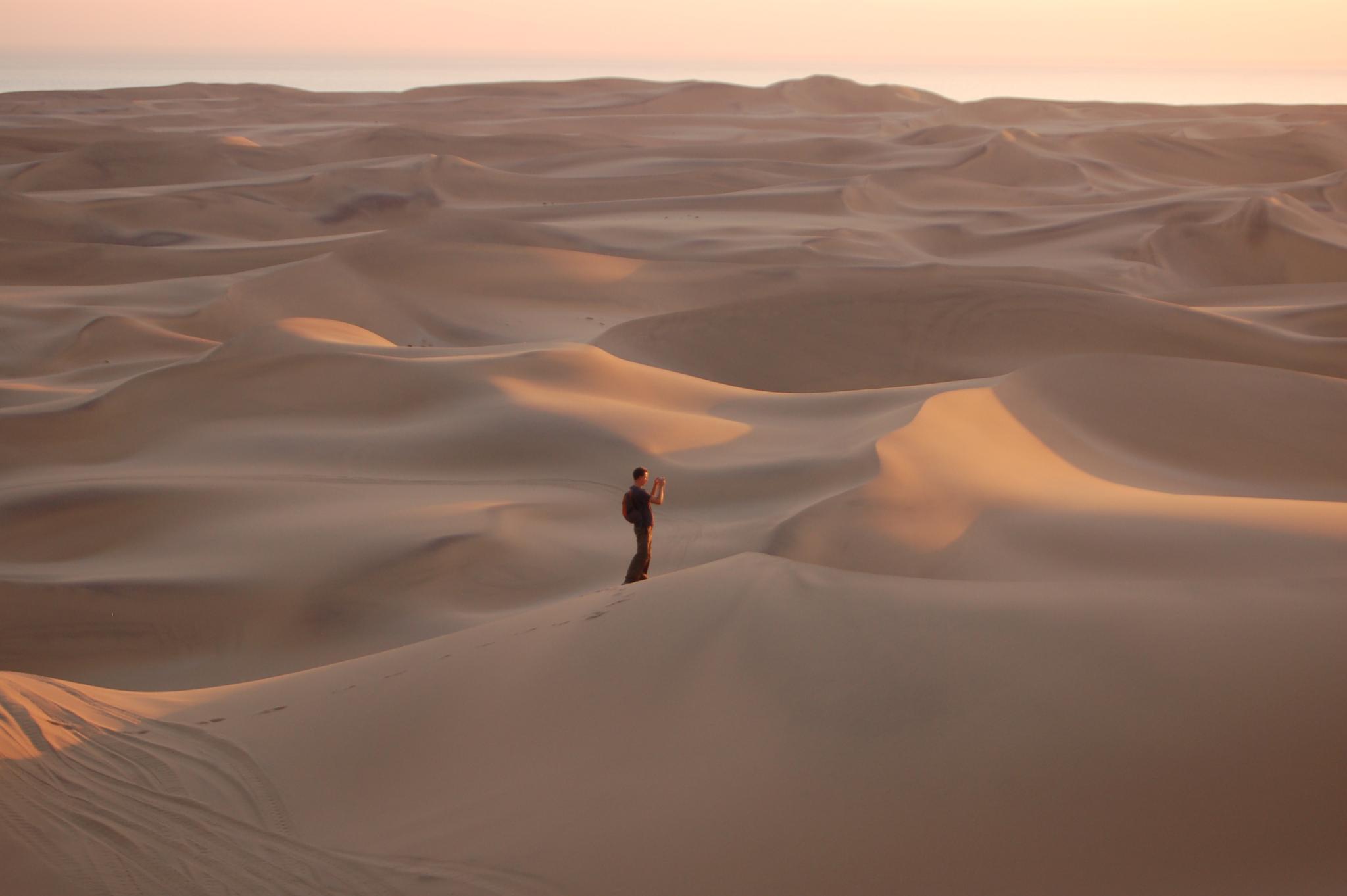 Kalahari desert  by greatwhiteshark1975
