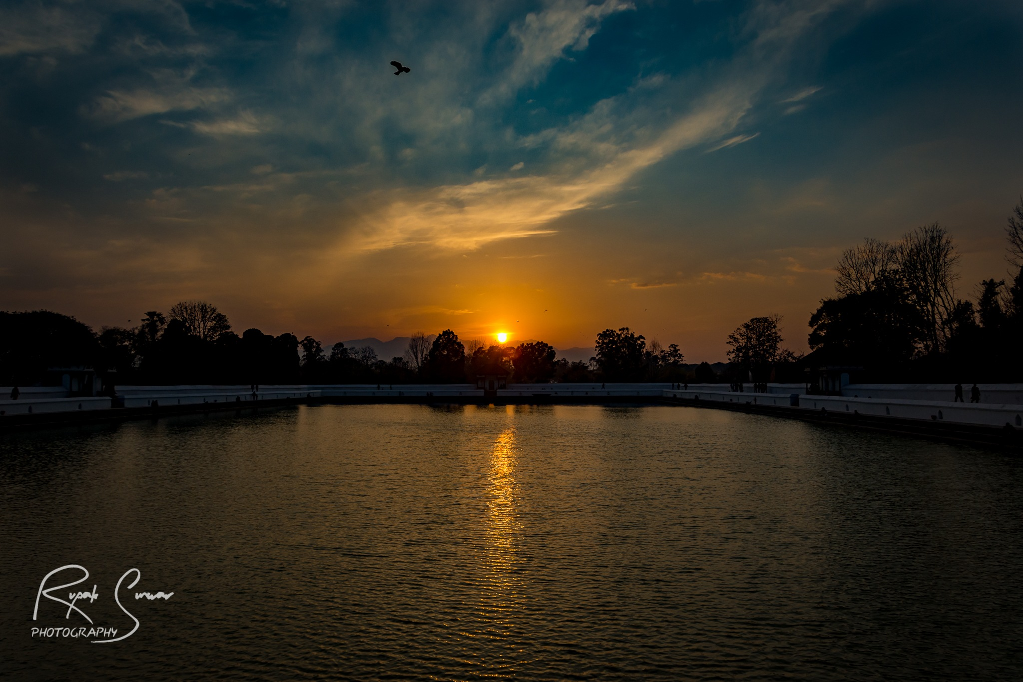 Beautiful Evening by Rupak Sunwar