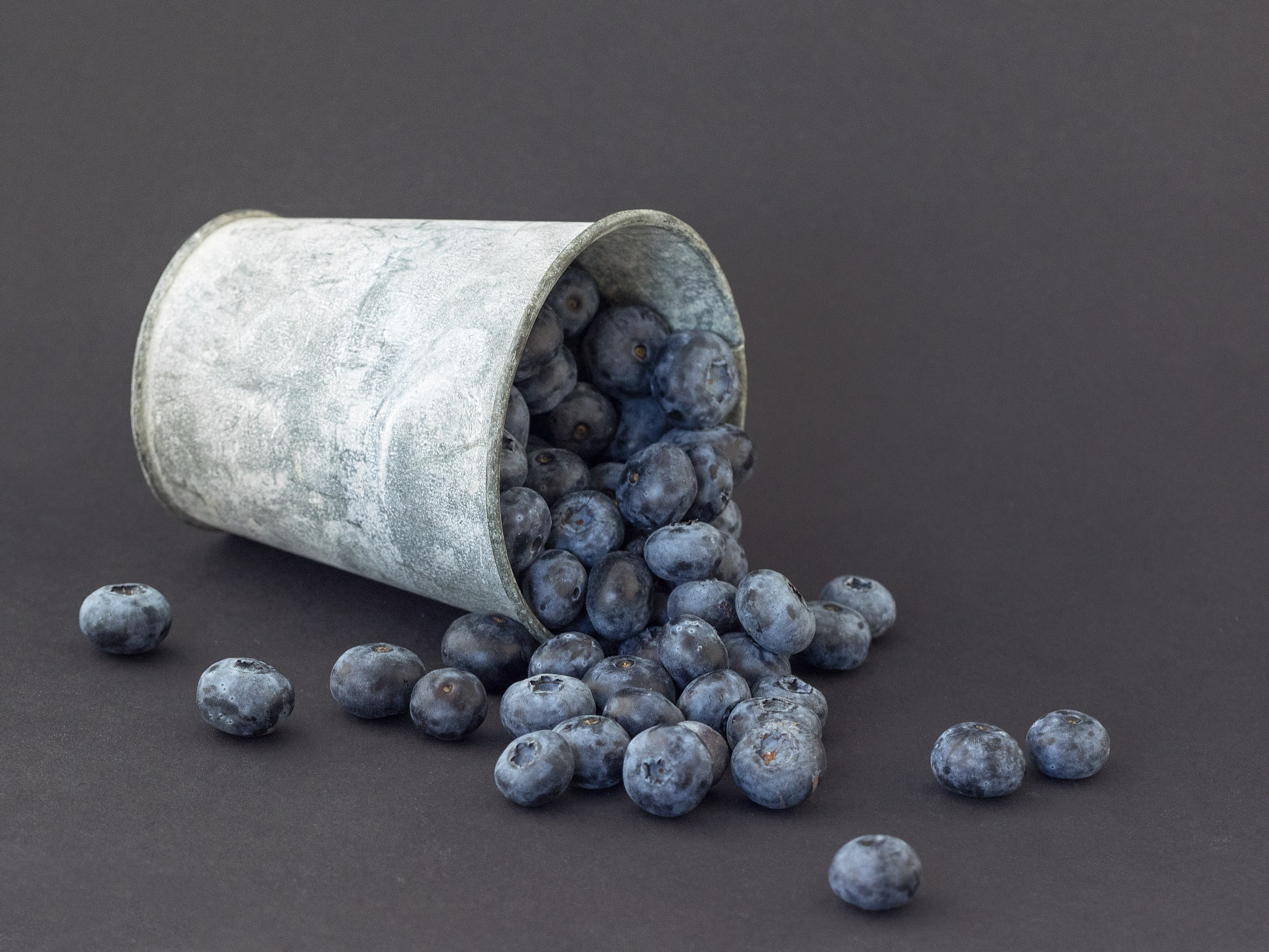 Blauwe bessen by gezienapomplooman