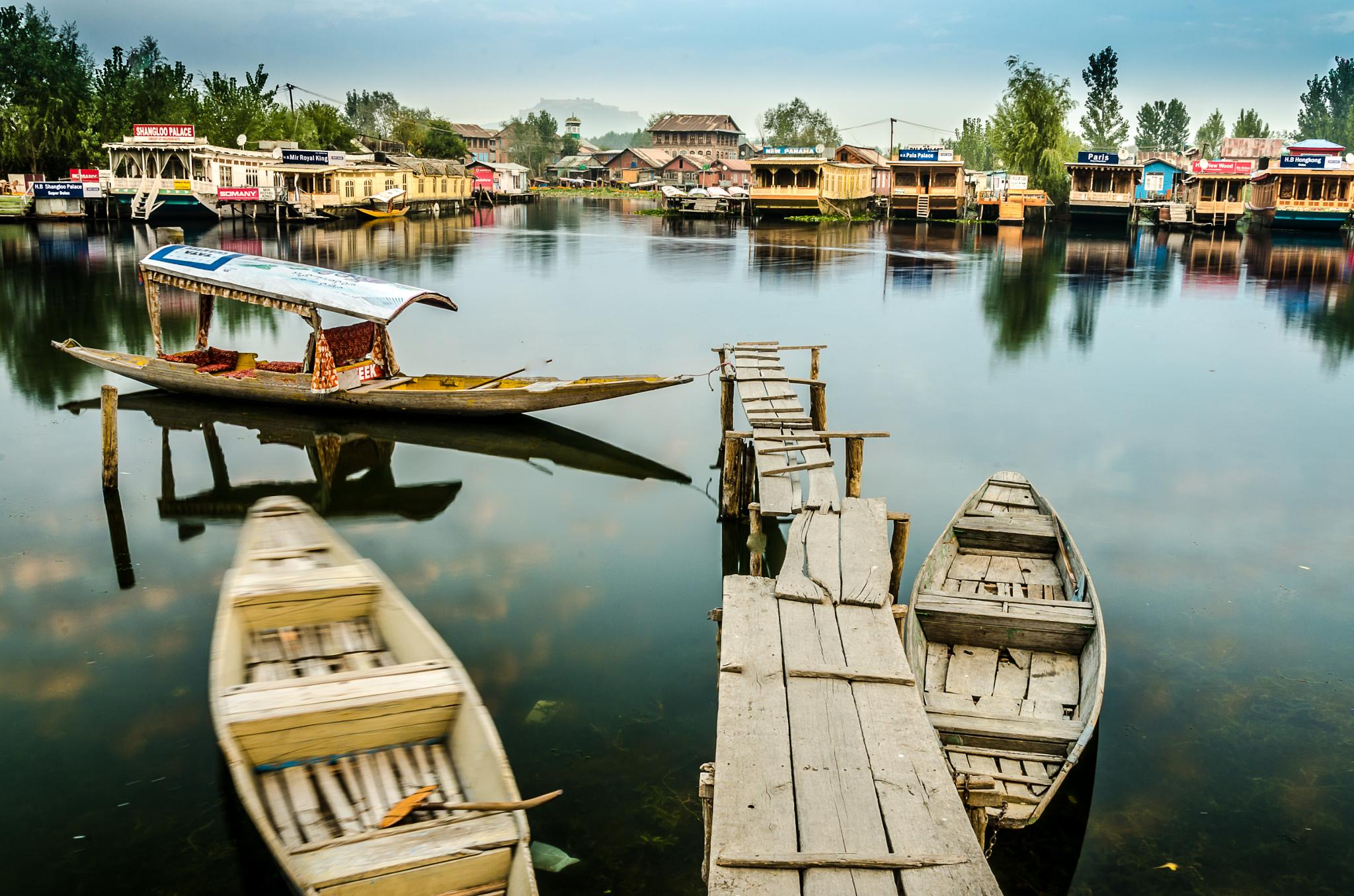 The Dal Lake by DILIP KUMAR GHOSH