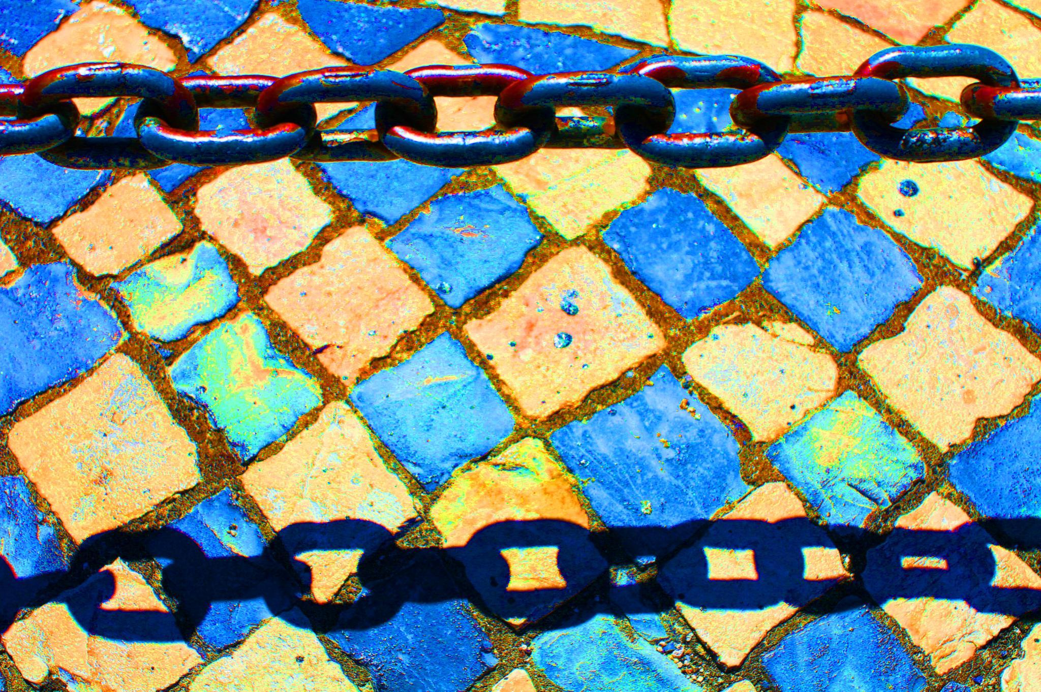 Chain Mosaic by basel.badran