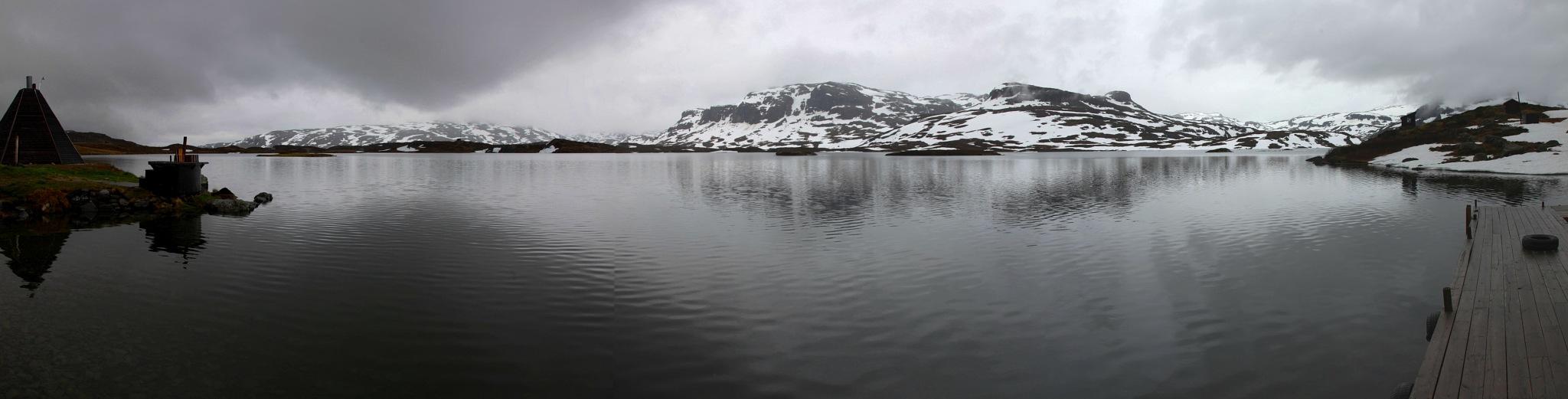 Icy Lake by basel.badran