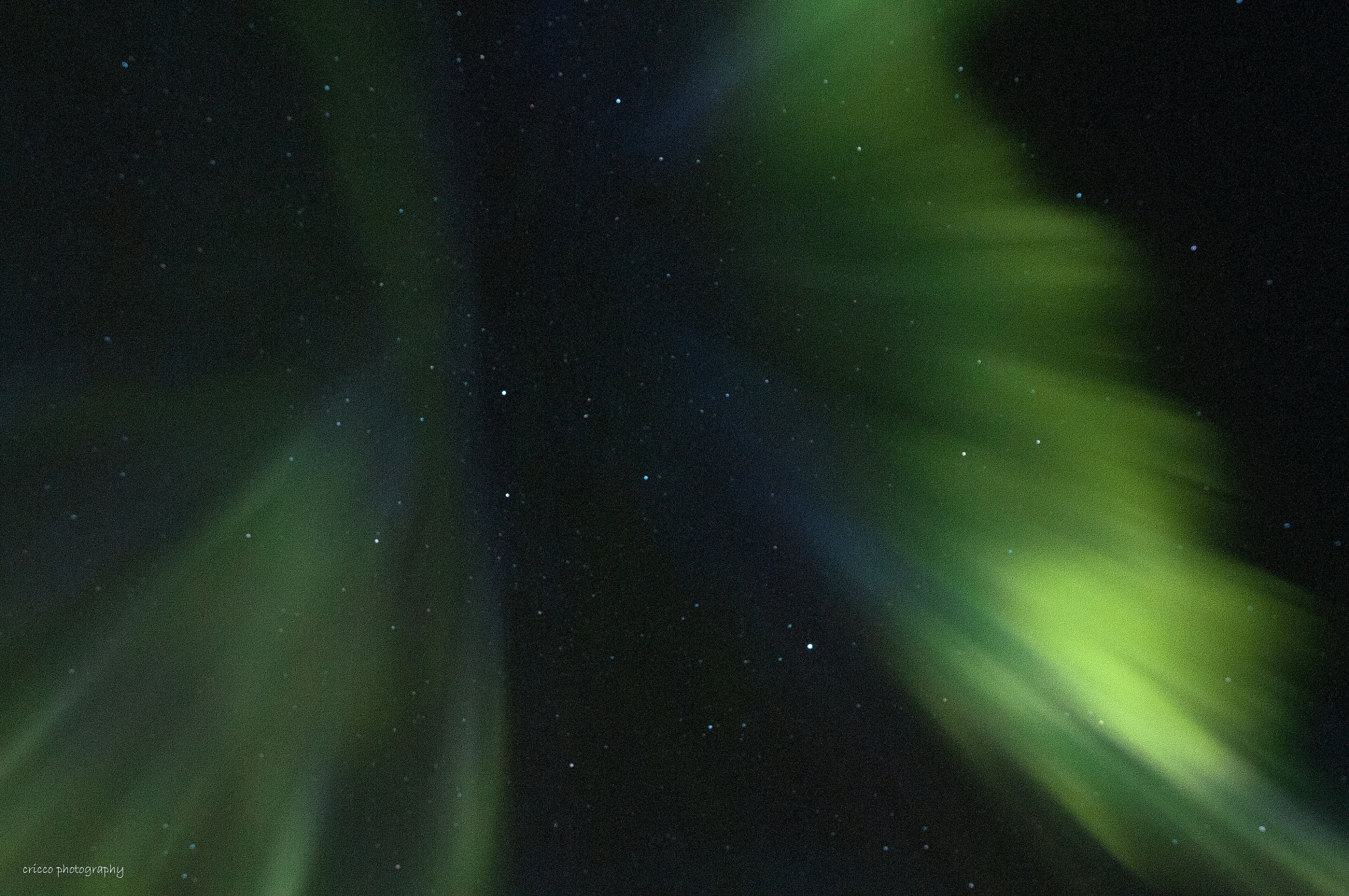 Aurora Borealis corona by cricco photography
