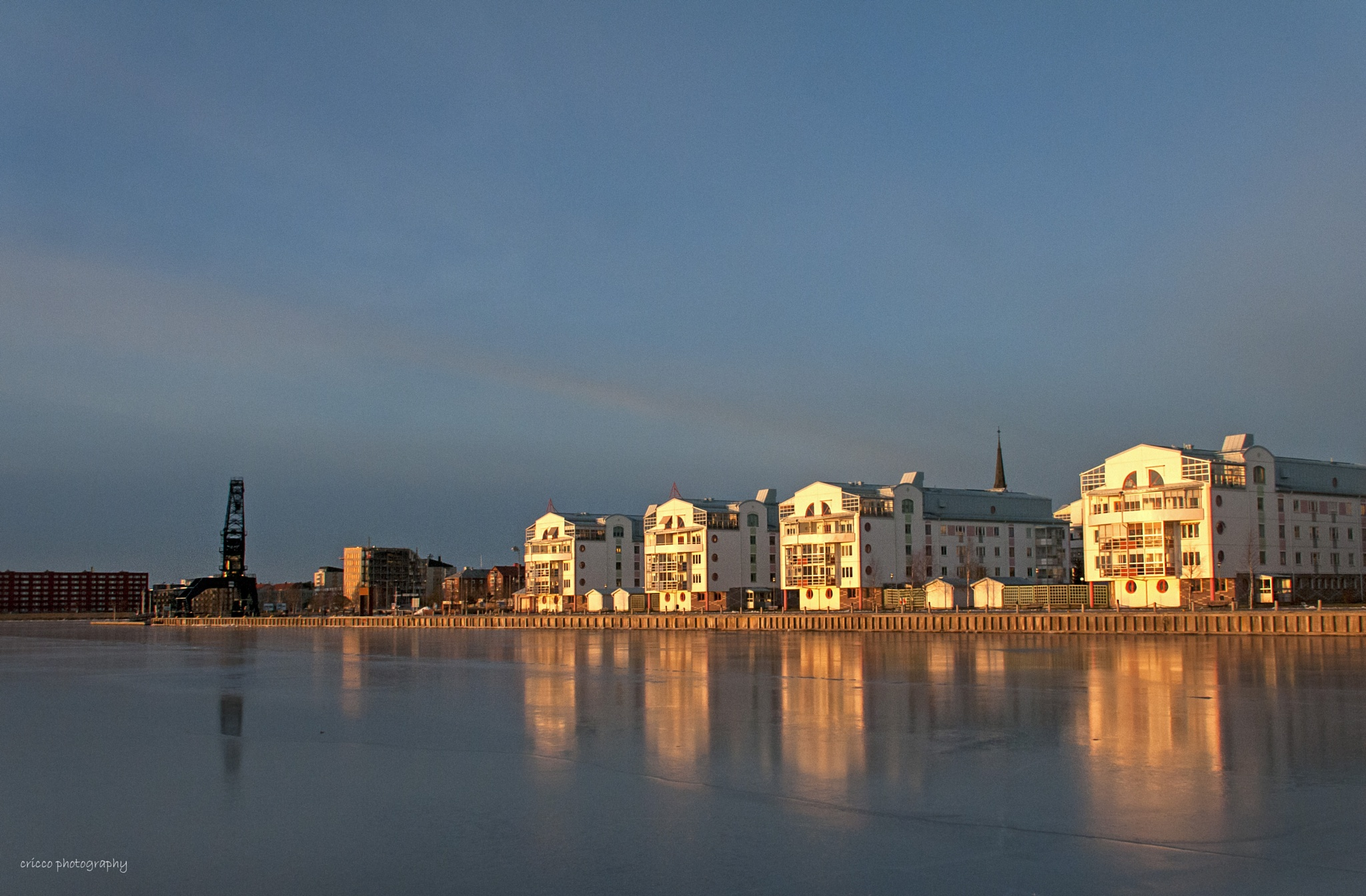 Harbour view of Luleå by cricco photography