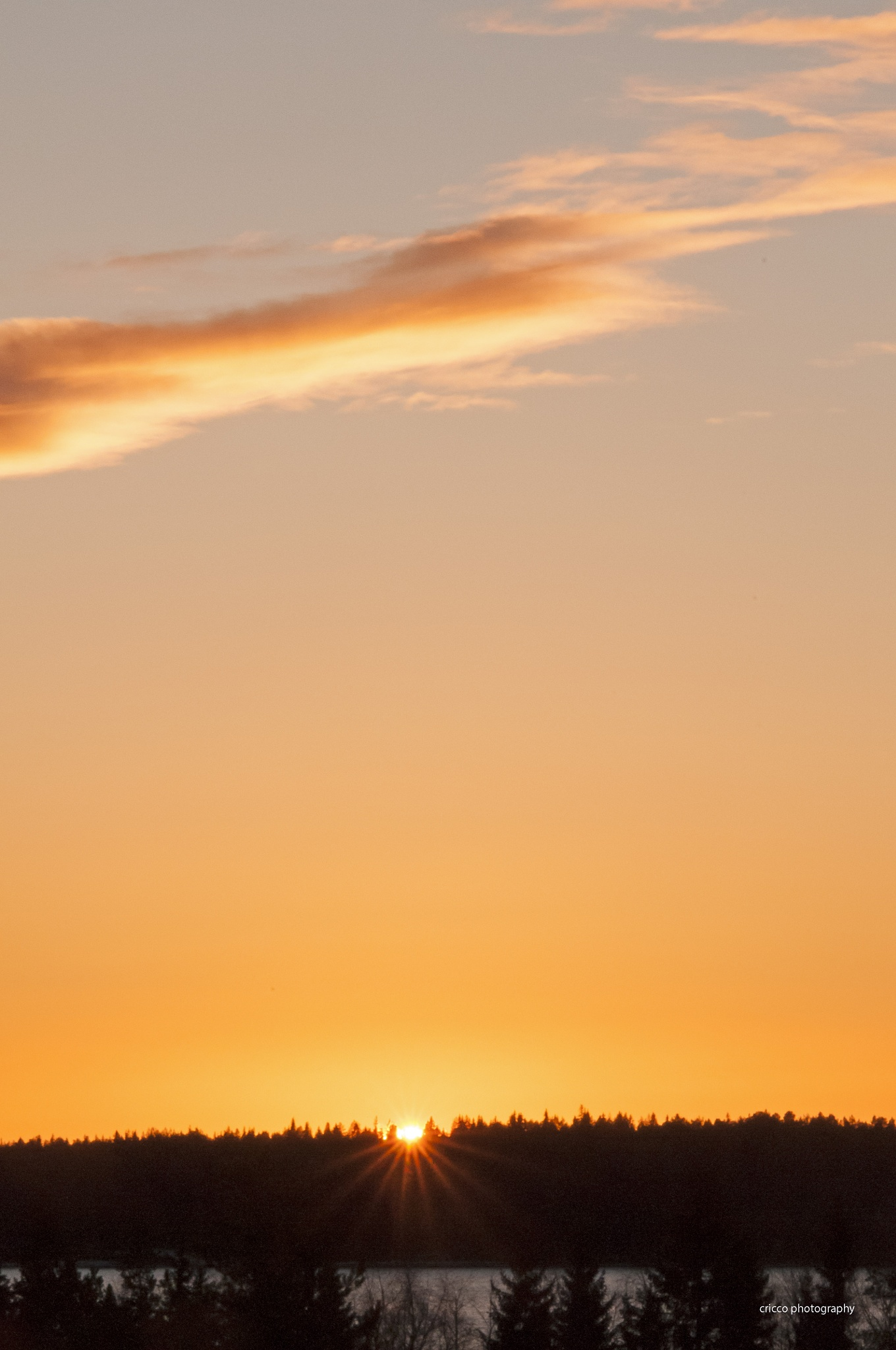 Sun set by cricco photography