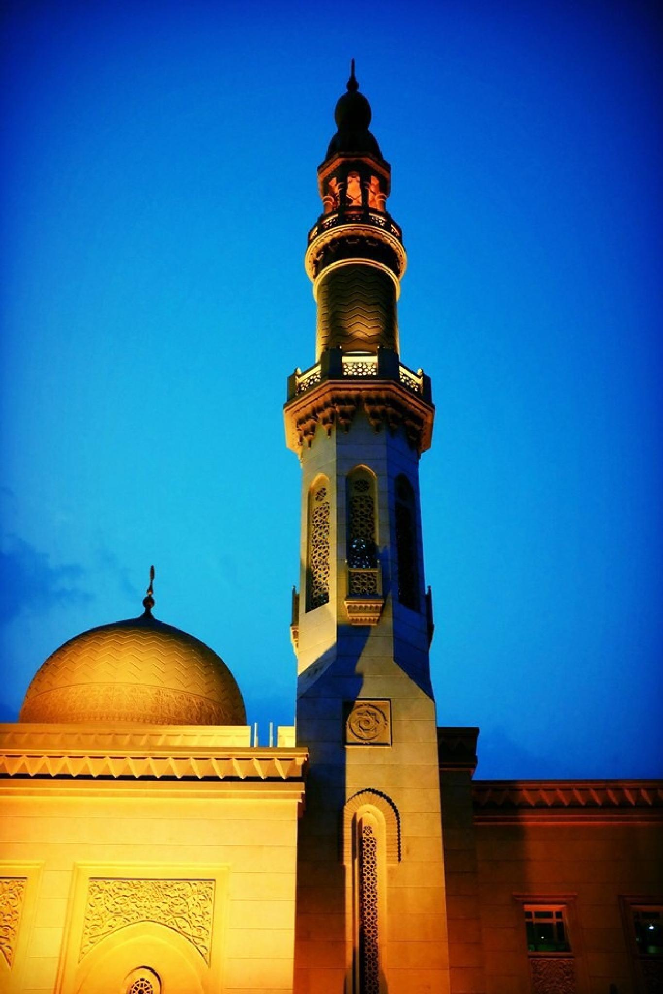 The Minaret by Ritesh Ghosh
