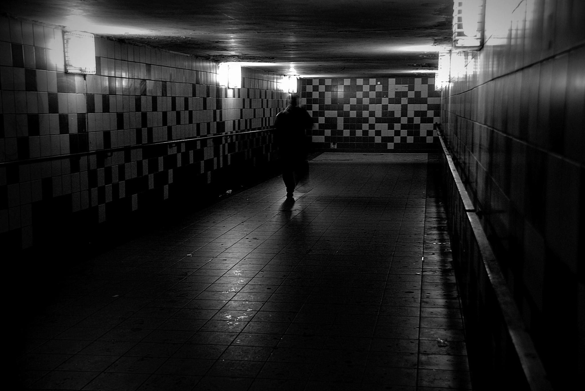 """Walking 1 """"underground"""" by tomkornik"""