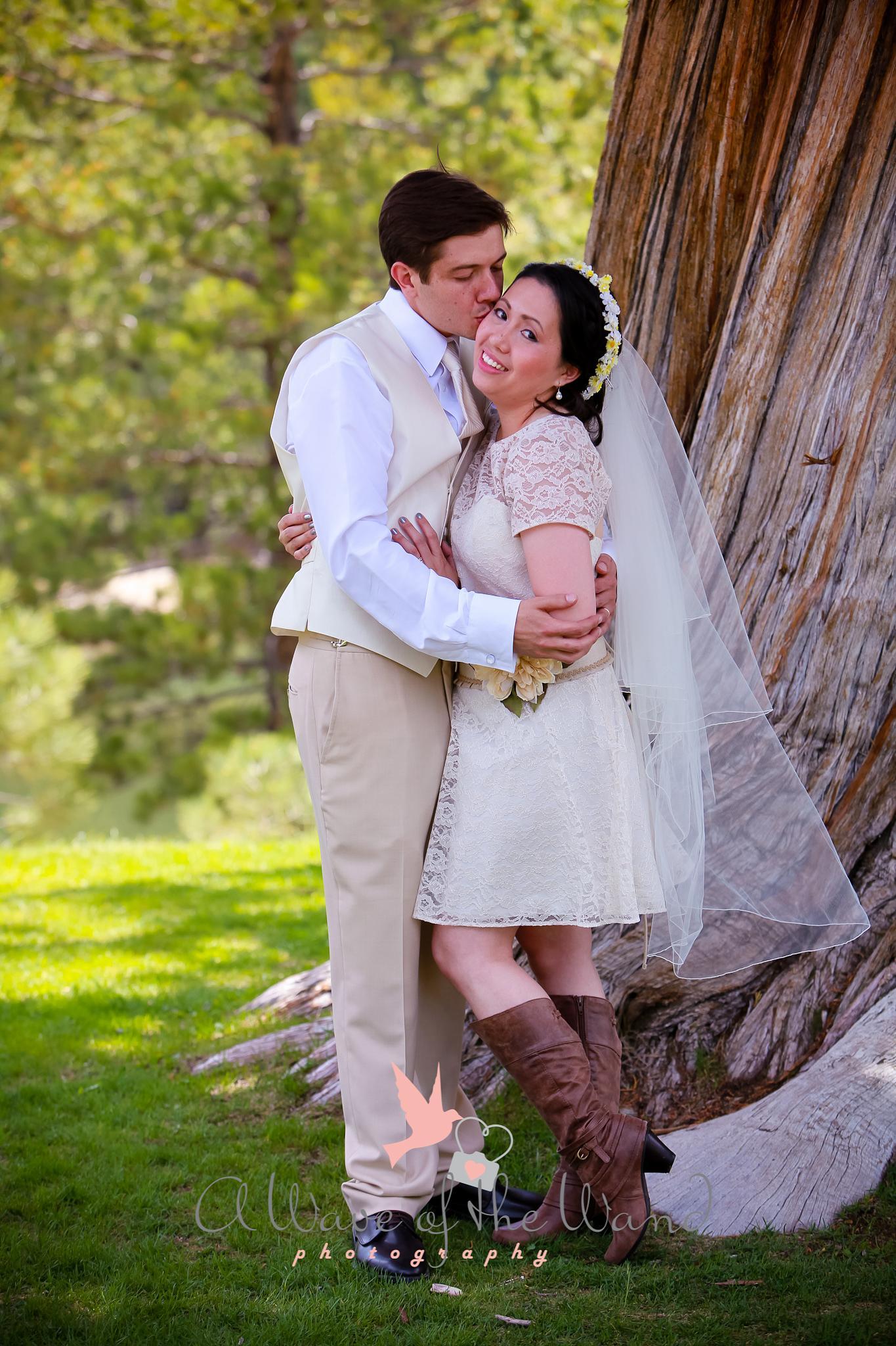 Tahoe Paradise Resort  Wedding  by cbruder
