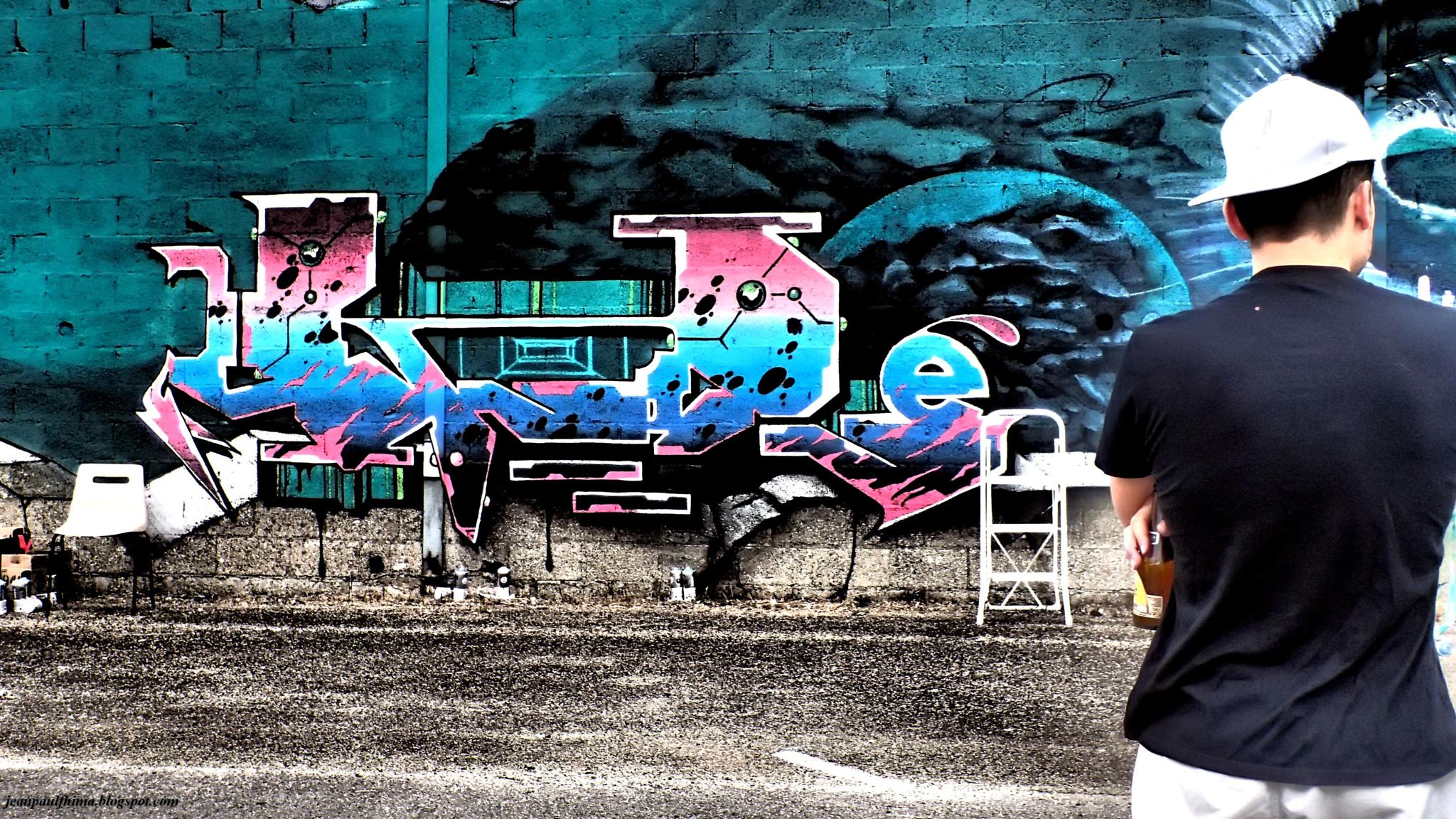 Mur 59 by Jean-Paul Fhima